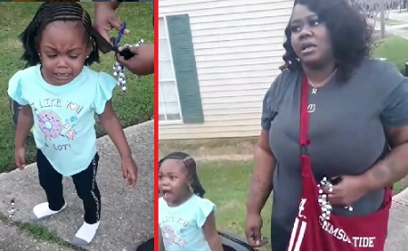 Mom Cuts Her Daughters Hair After Her Baby Father Got It Done By Another Woman!