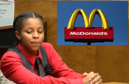 McDonald's Worker Accused Of Spitting In Officers Burger