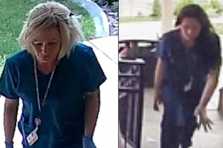Fake Nurses are Stealing Packages from People's Porches