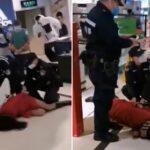 Violent Arrest Of Mom At NYC Subway Over Face Mask.