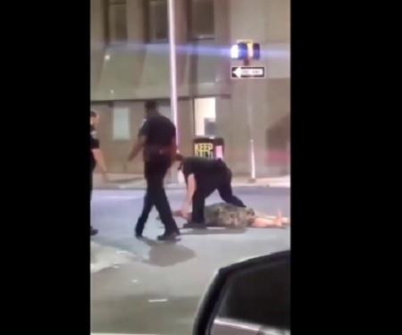 Baltimore Cop Suspended