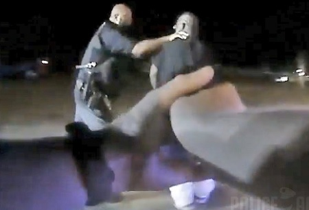 Video shows a Florida Springfield police officer using excessive force on a mentally handicapped resident.