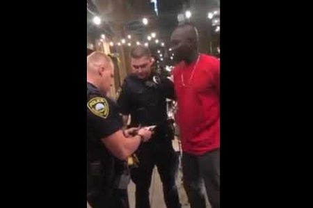 Officers Racially Profile & Handcuff Black FBI Agent Before Letting Him Go