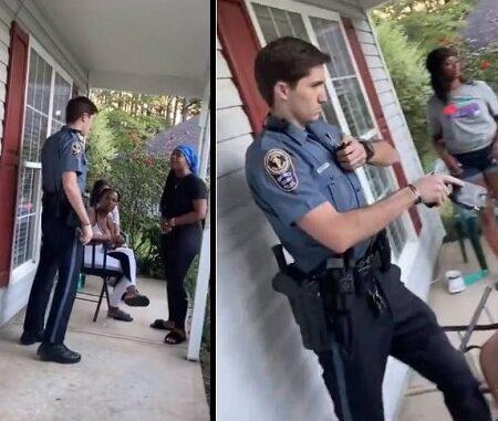 """Gwinnett County Cop On Desk Duty After Arresting Woman For """"Talking To Loud""""."""