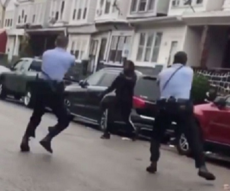 West Philly Police Shot And Killed Mentally Ill Man Armed With Knife.