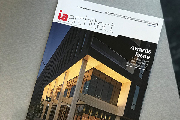 Iowa Architect Magazine Cover
