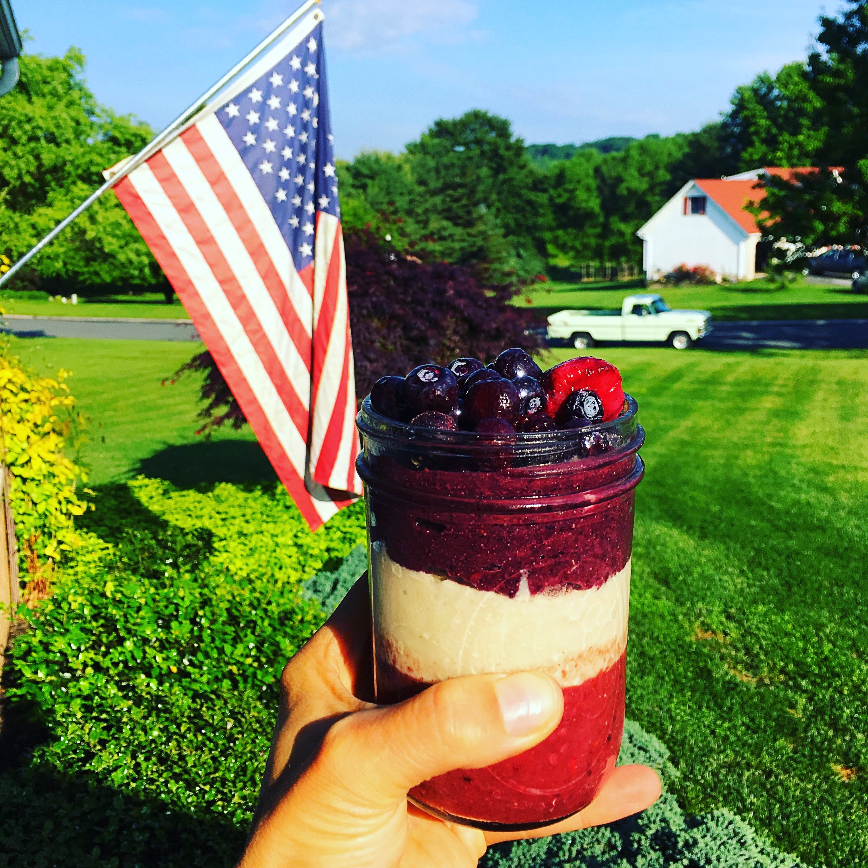 Humble Warrior & Patriotic Superfood Smoothie