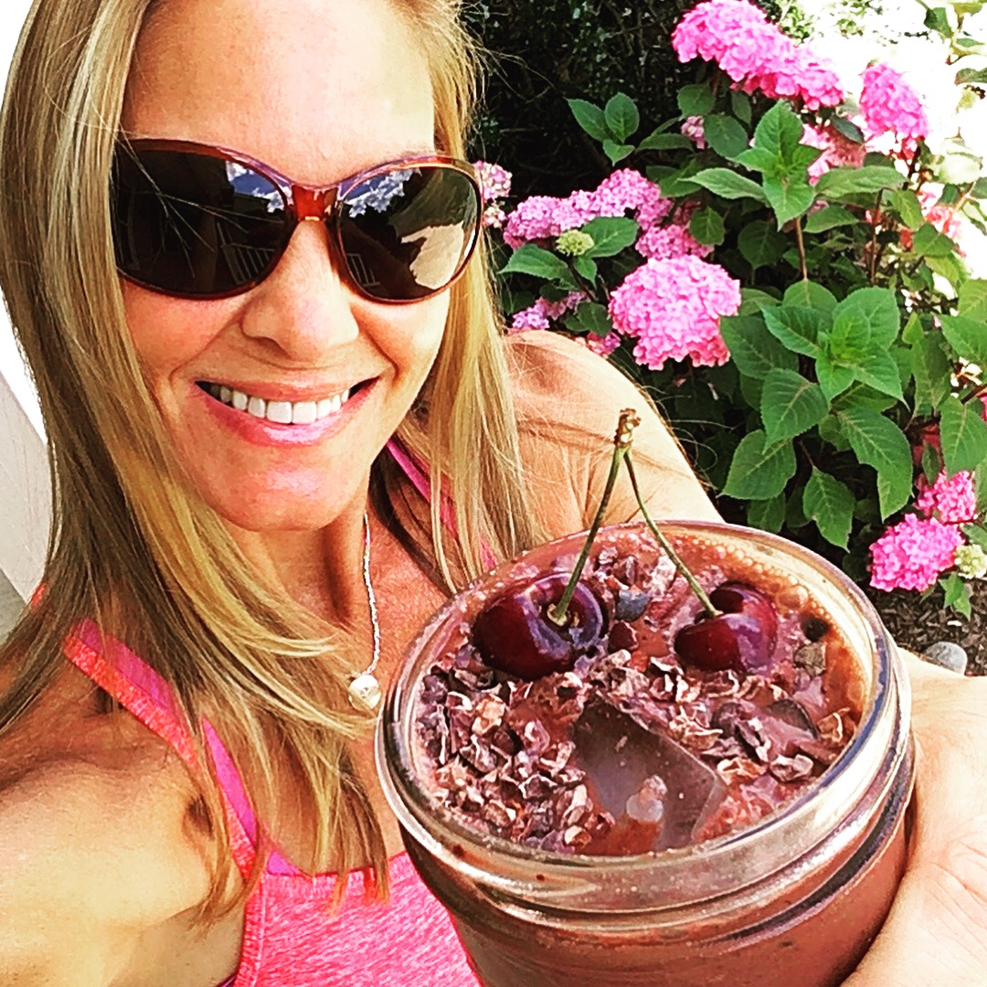 Post Run Yoga, Self Massage & Recovery Smoothie
