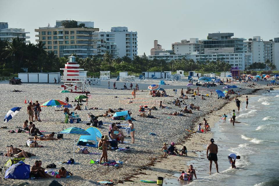 Miami Beach Mandates Facial Coverings In Public Spaces After Rise In Coronavirus Cases