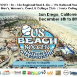 US BEACH SOCCER NATIONALS, YOUNGER REGIONALS, & COLLEGE CLUB CHAMPIONSHIP DEADLINES APPROACHING!