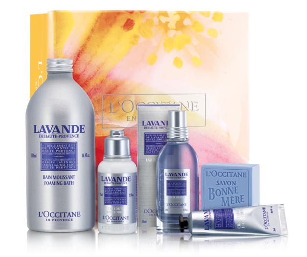 Lavender Collection ($68): Whisk away to the scenic lavender fields of Provence with this soothing, relaxing collection.