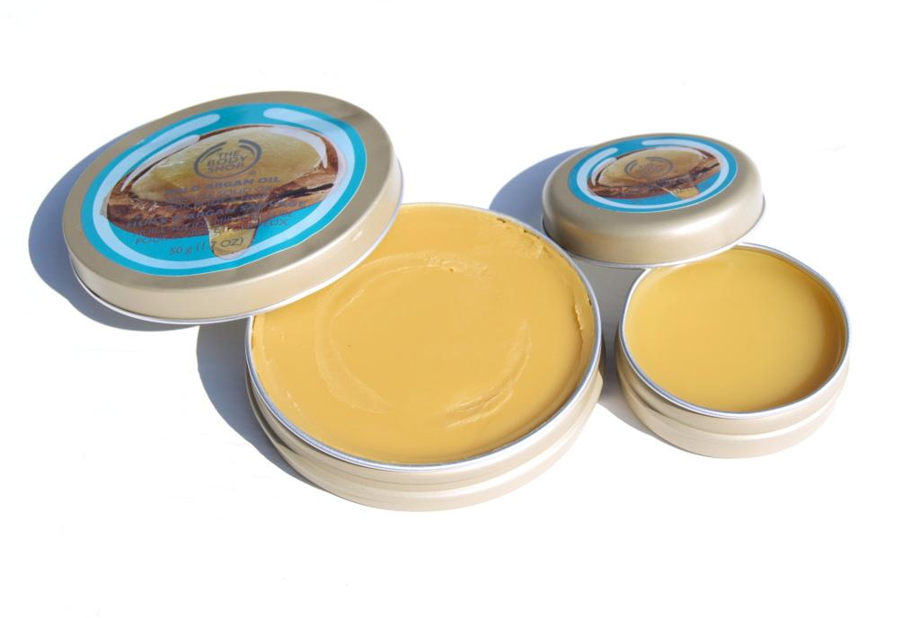 the body shop wild argan oil solid oil lips hair body