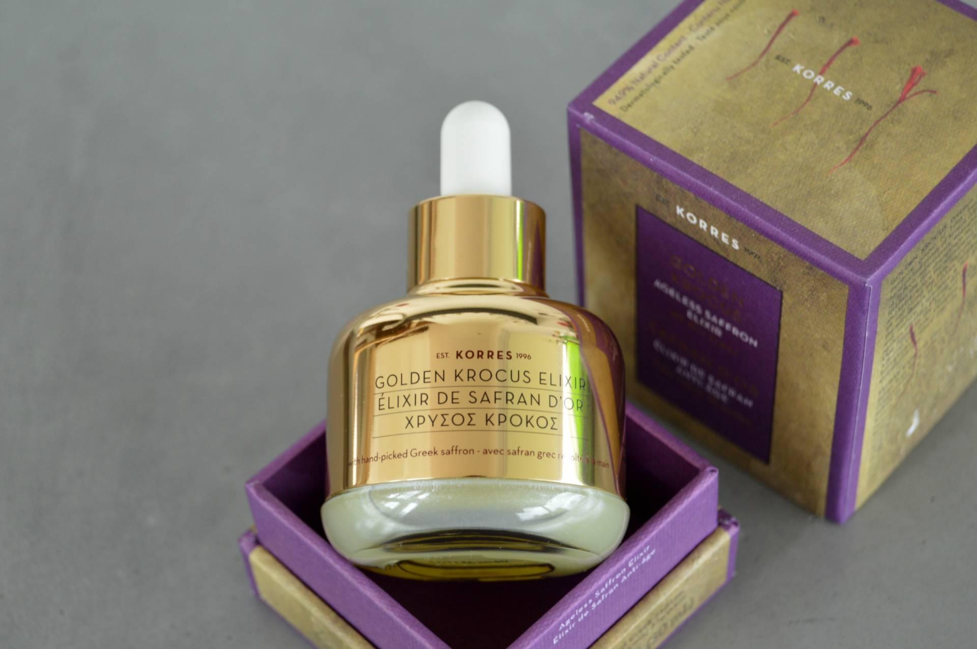 Korres Golden Krocus Ageless Saffron Elixir Omgbart