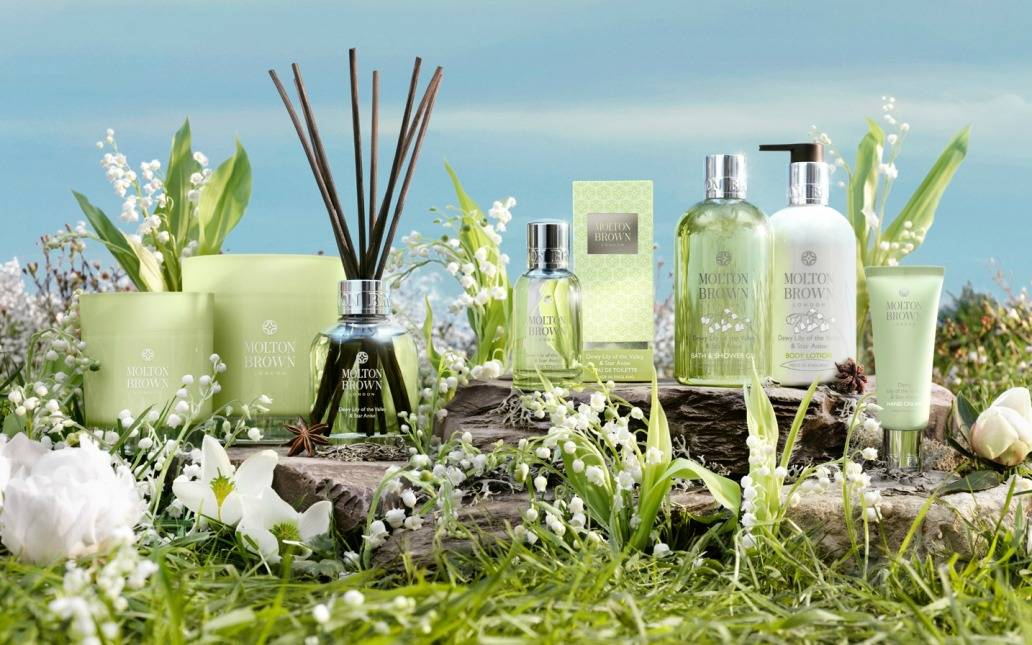 mothers day gift guide inhautepursuit review molton brown Dewy Lily of the Valley Star Anise Full Collection