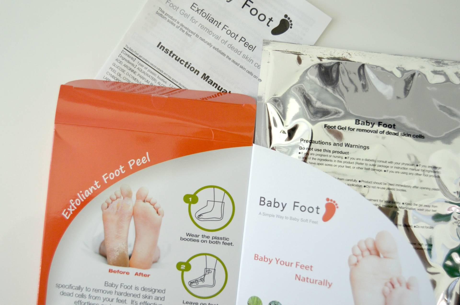 amazon beauty baby foot peel review inhautepursuit