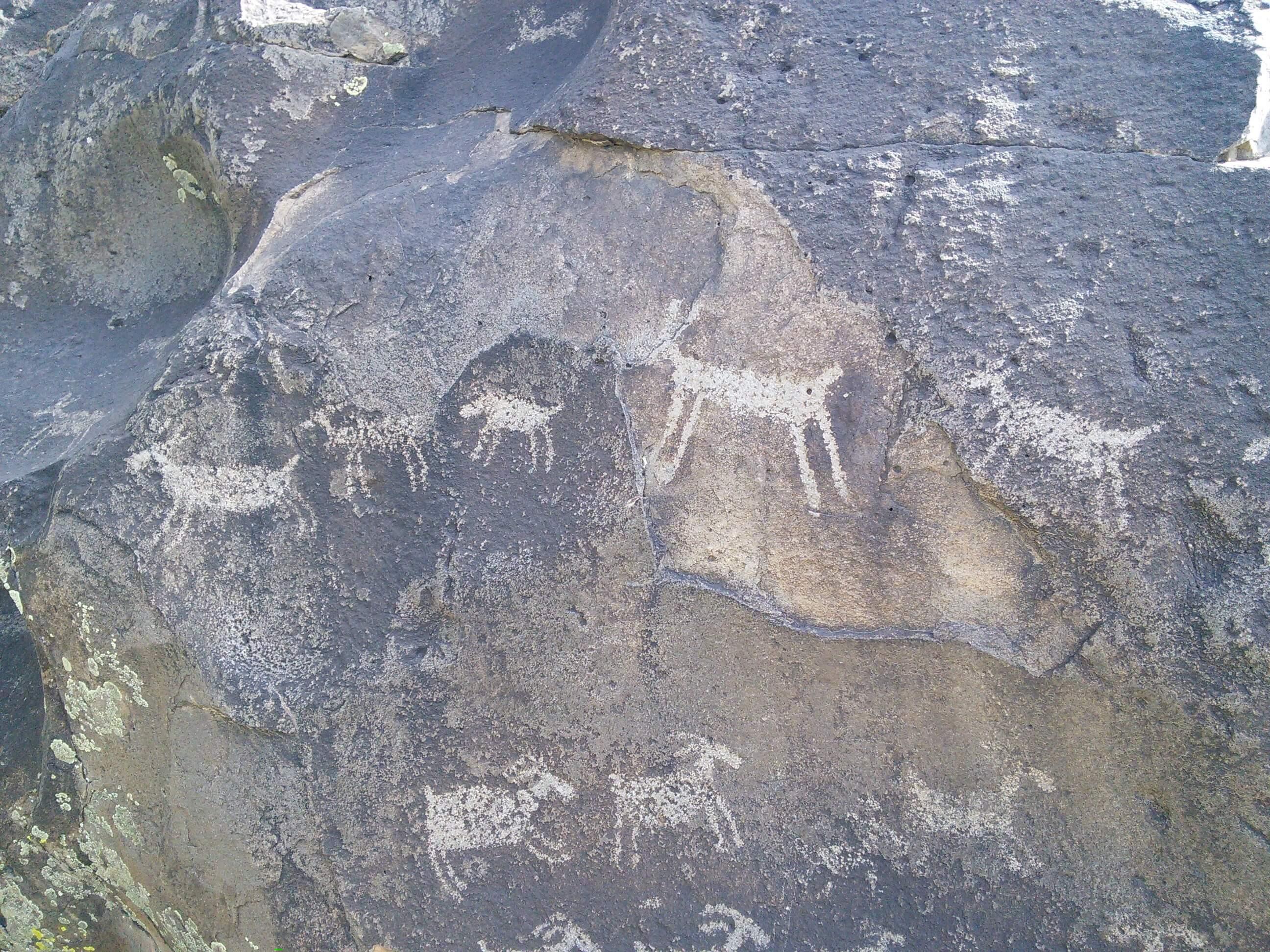 Petroglyph in the Rio Grande Gorge, NM