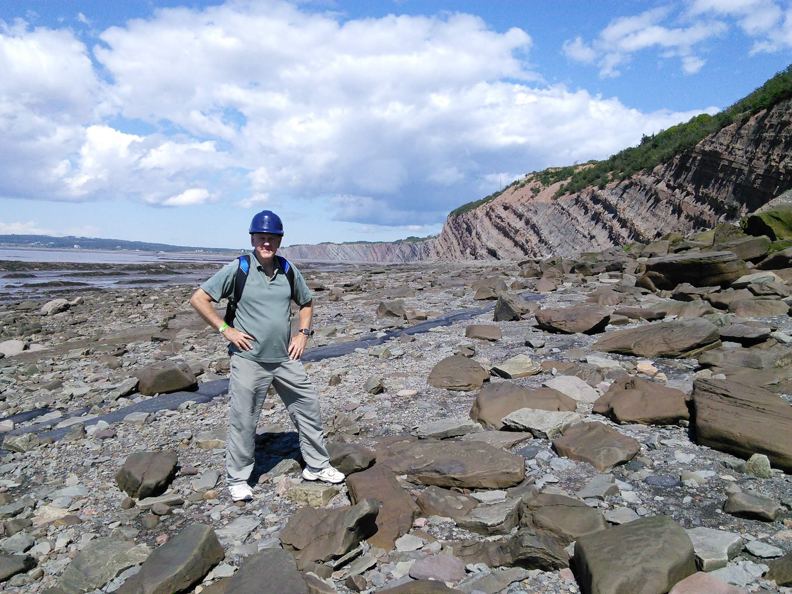 Lyell's corner, Joggins Fossil Cliff, NS