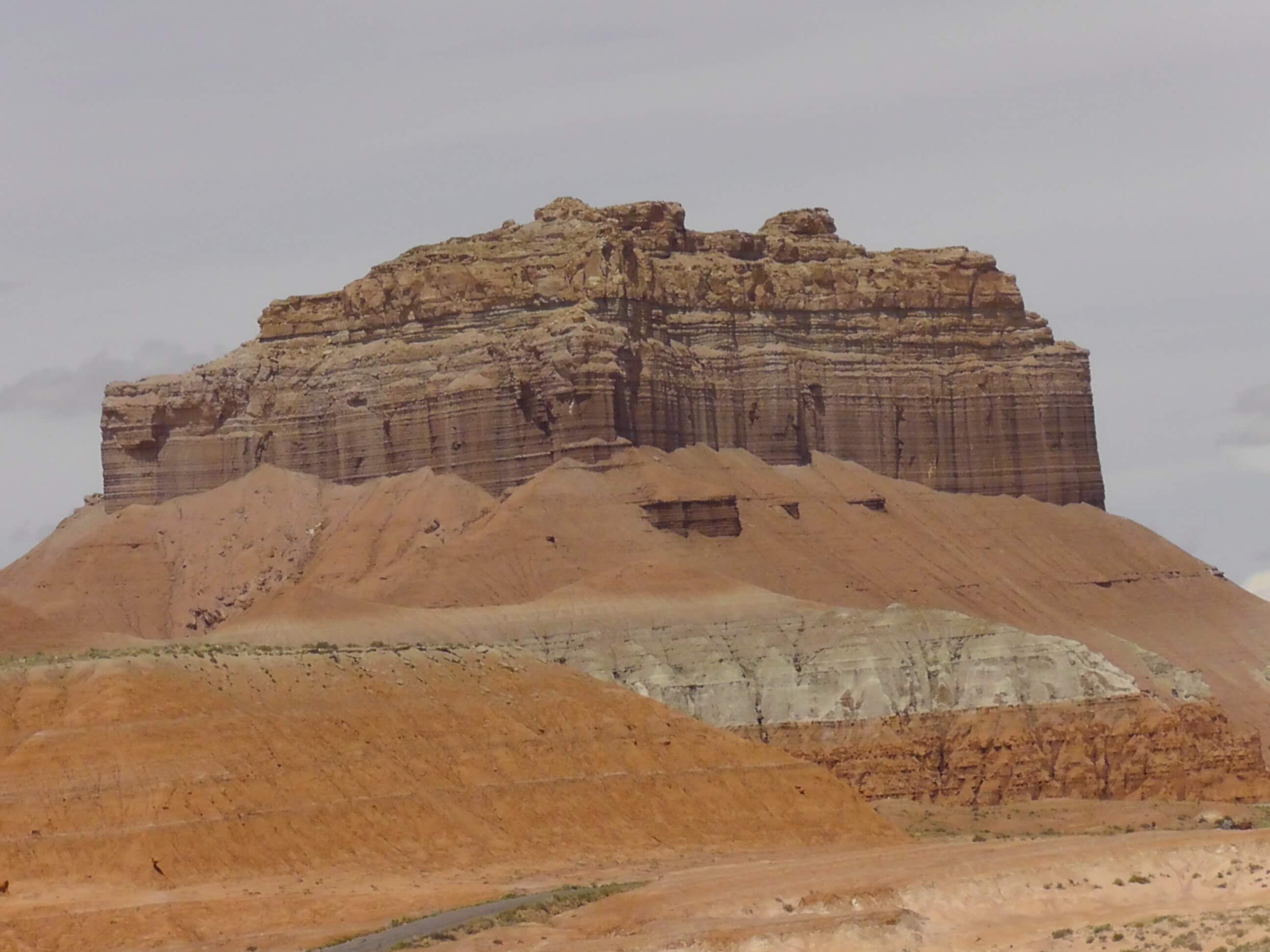 On the way to Goblin Valley SP, Utah