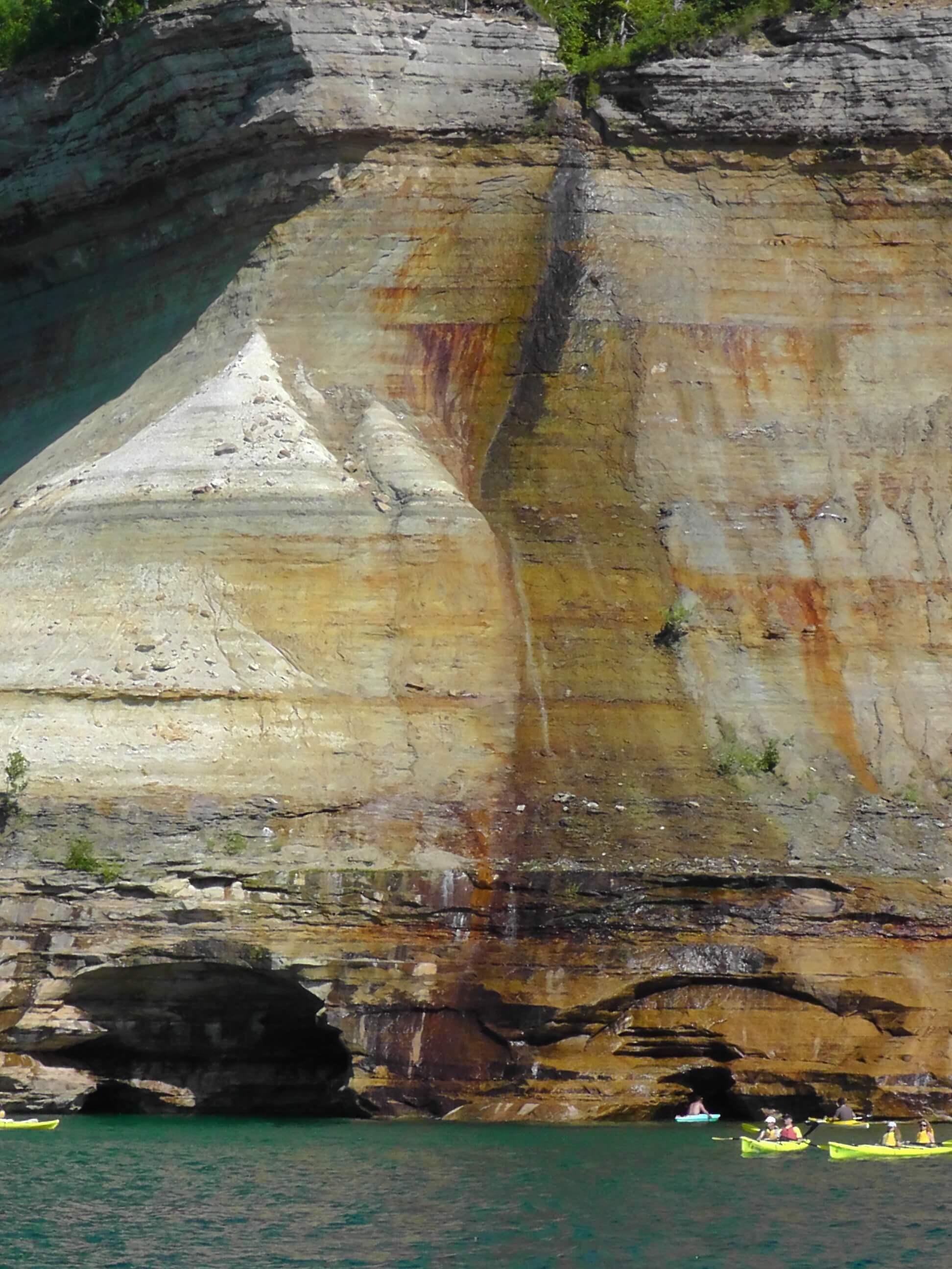 Bridal Veils Falls, Pictured Rocks National Lakeshore