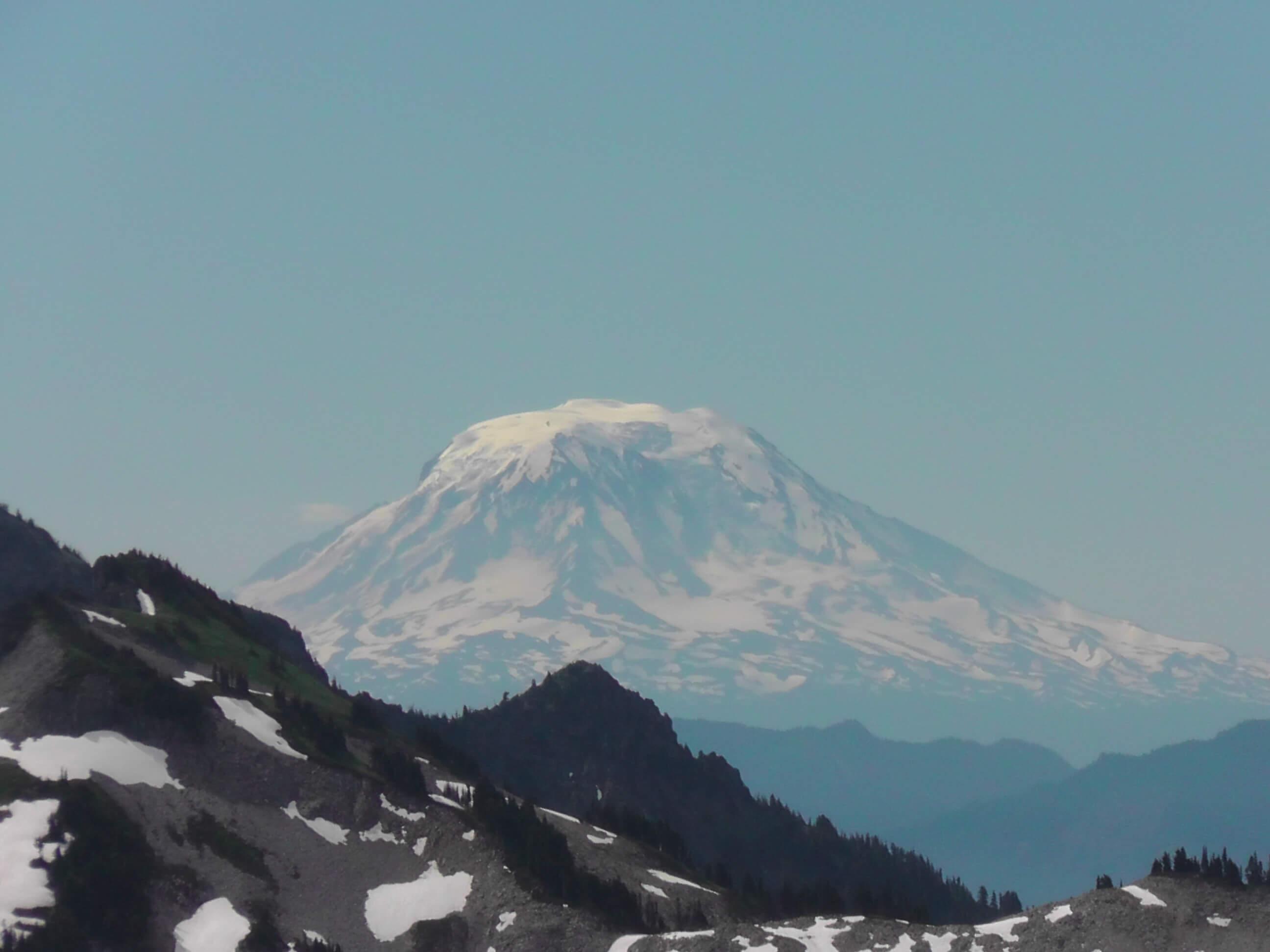 Mount Adams as seen from Mount Rainier National Park