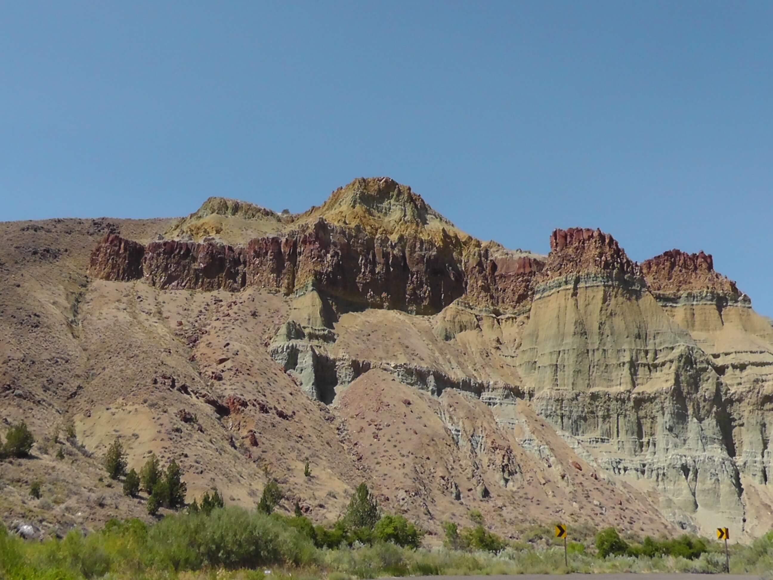 Cathedral Rock, John Day Fossil Beds National Monument, Oregon