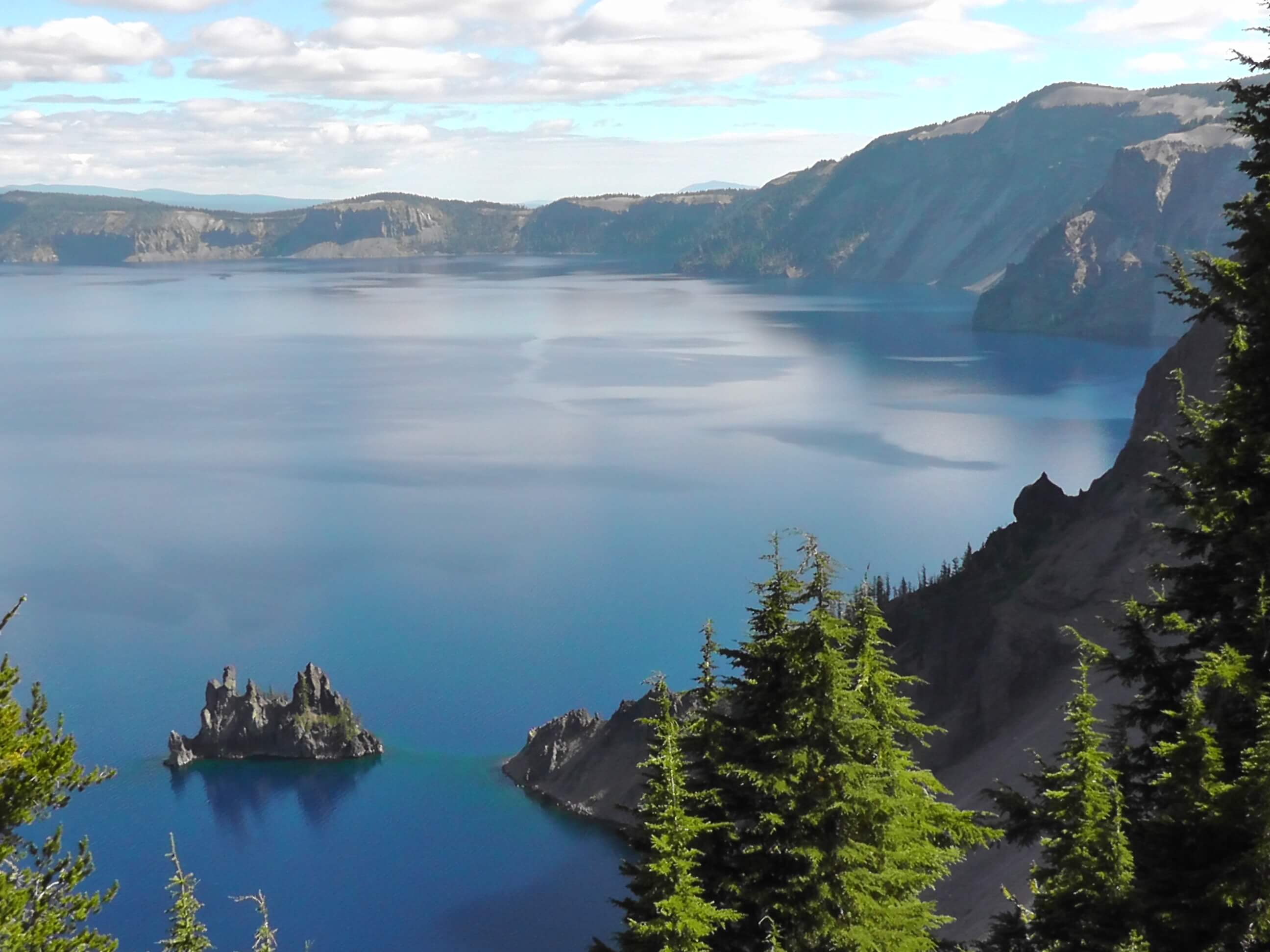 Phantom Ship, Crater Lake National Park, Oregon