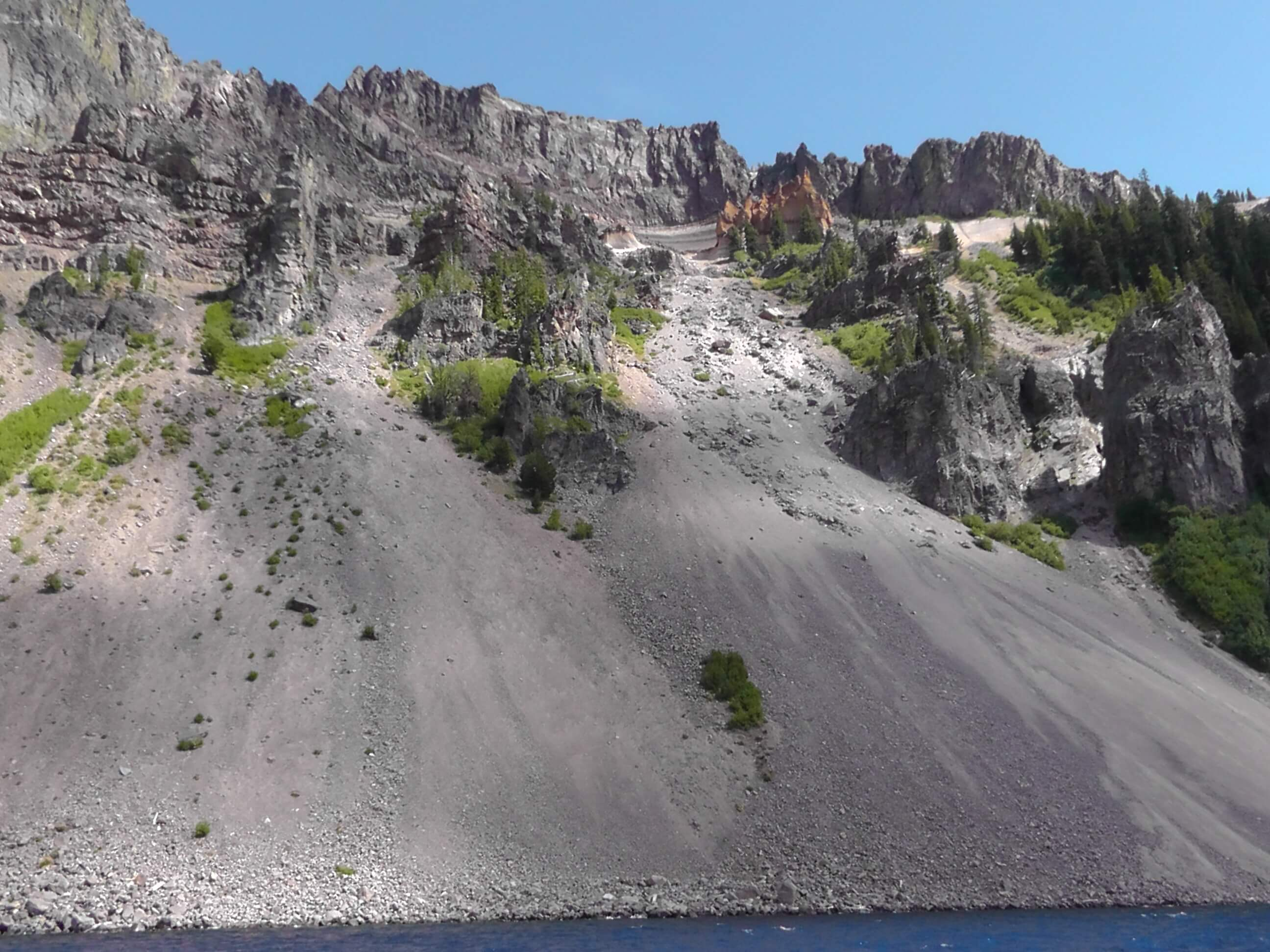 Pumice Castle, Crater Lake National Park, Oregon