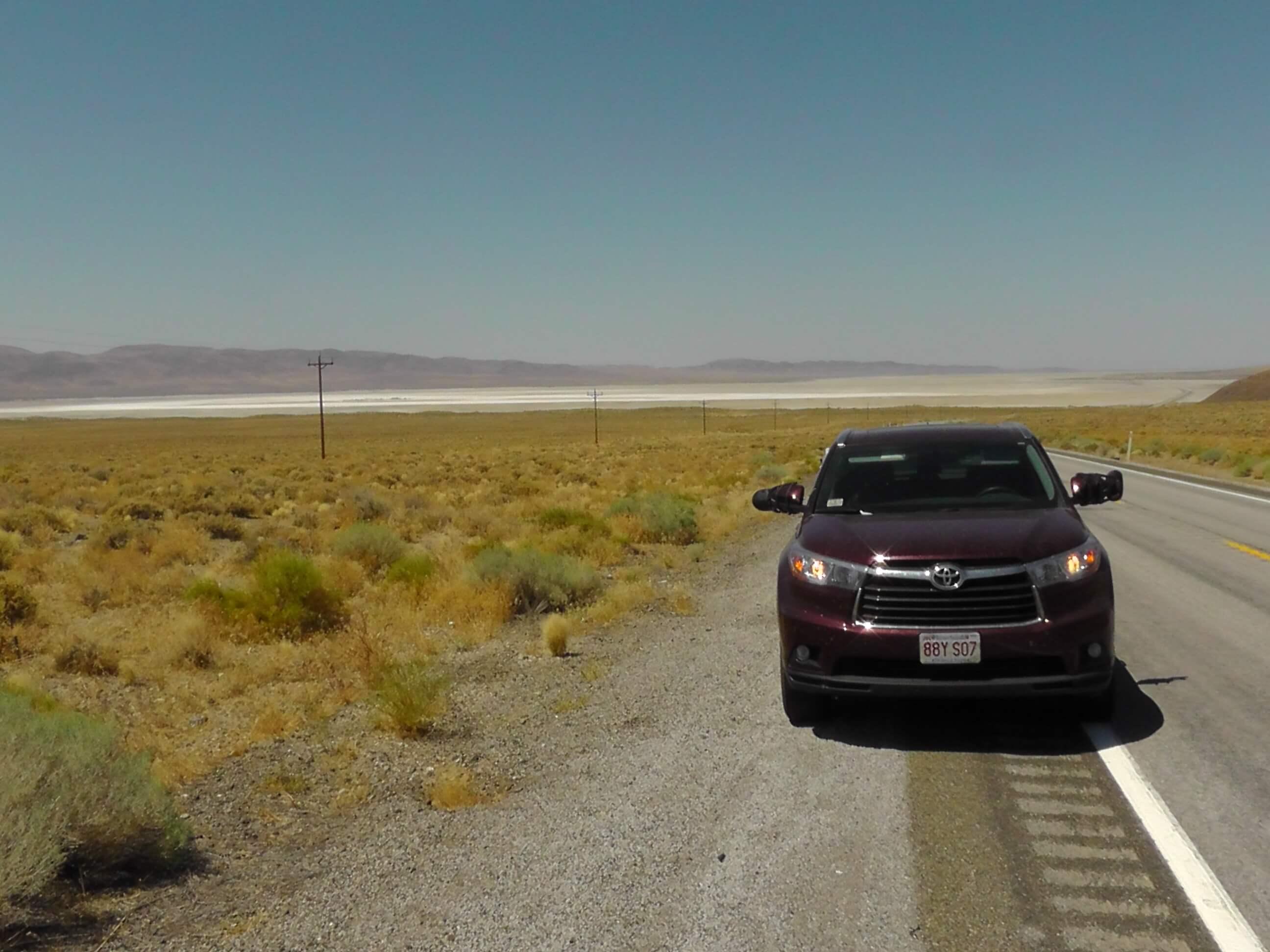 Dry Lake in Nevada