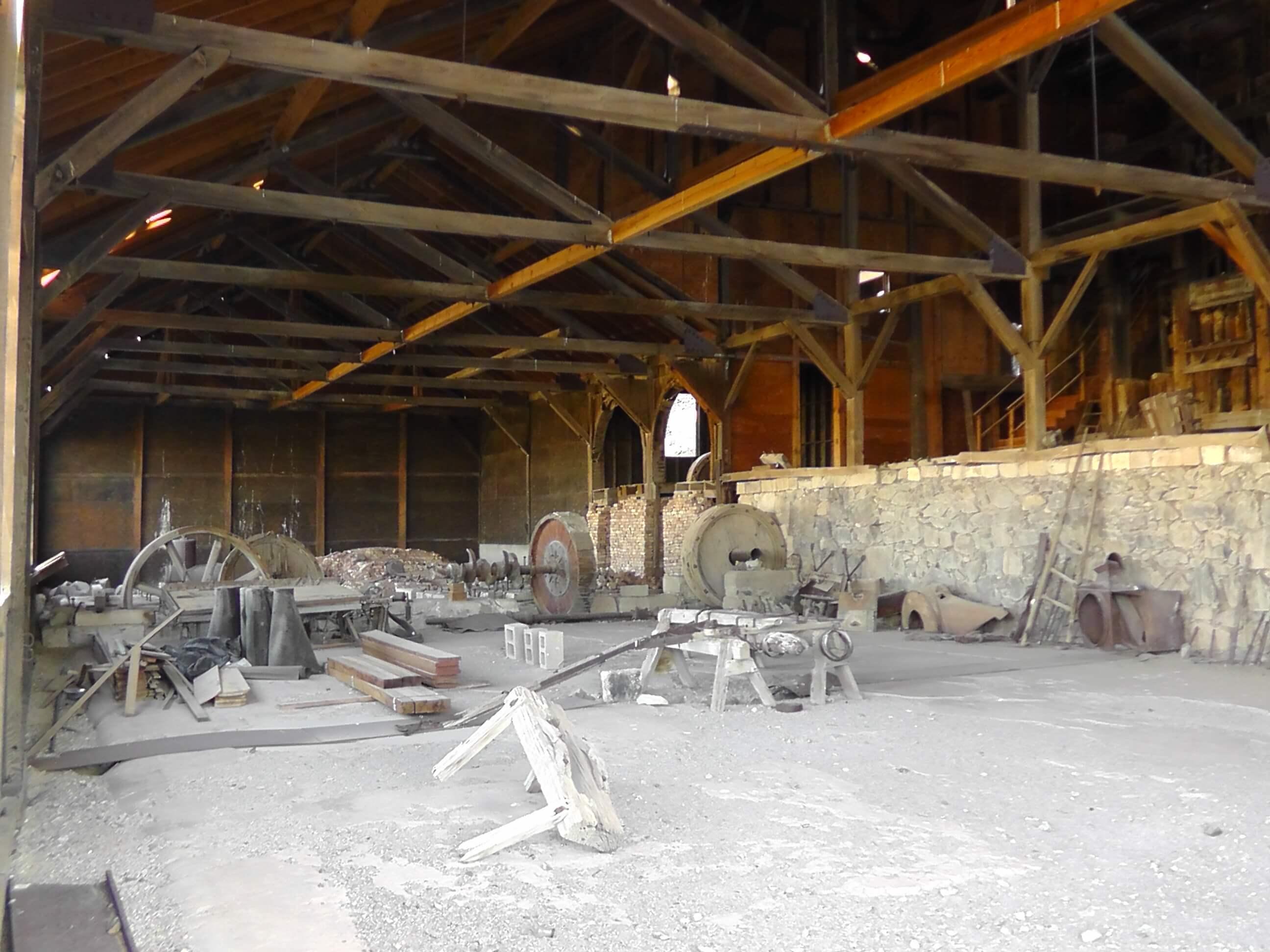 Berlin Ghost Town, Berlin/Ichthyosaur State Park, Nevada