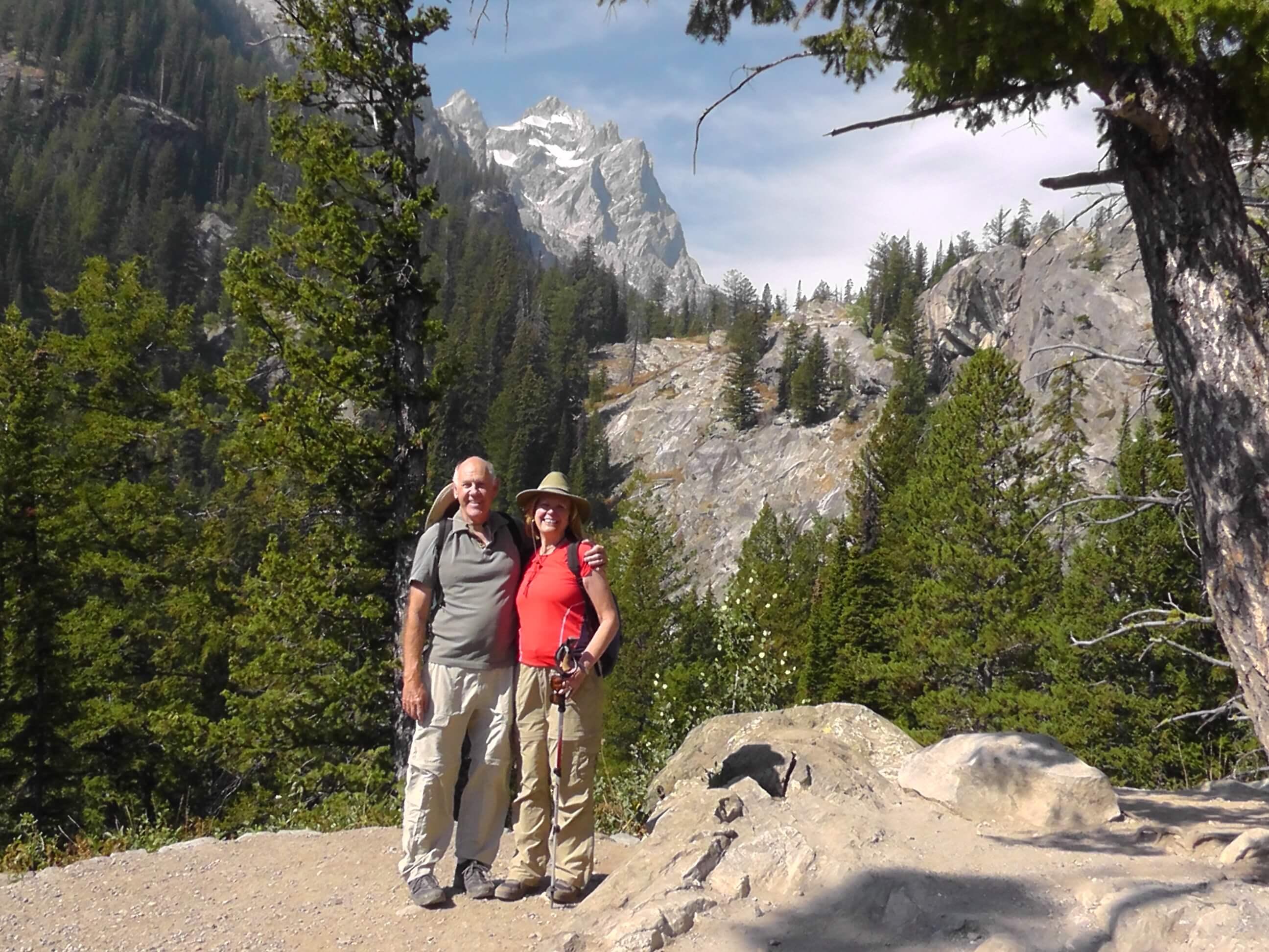 Near Inspiration Point, Grand Teton National Park, Wyoming