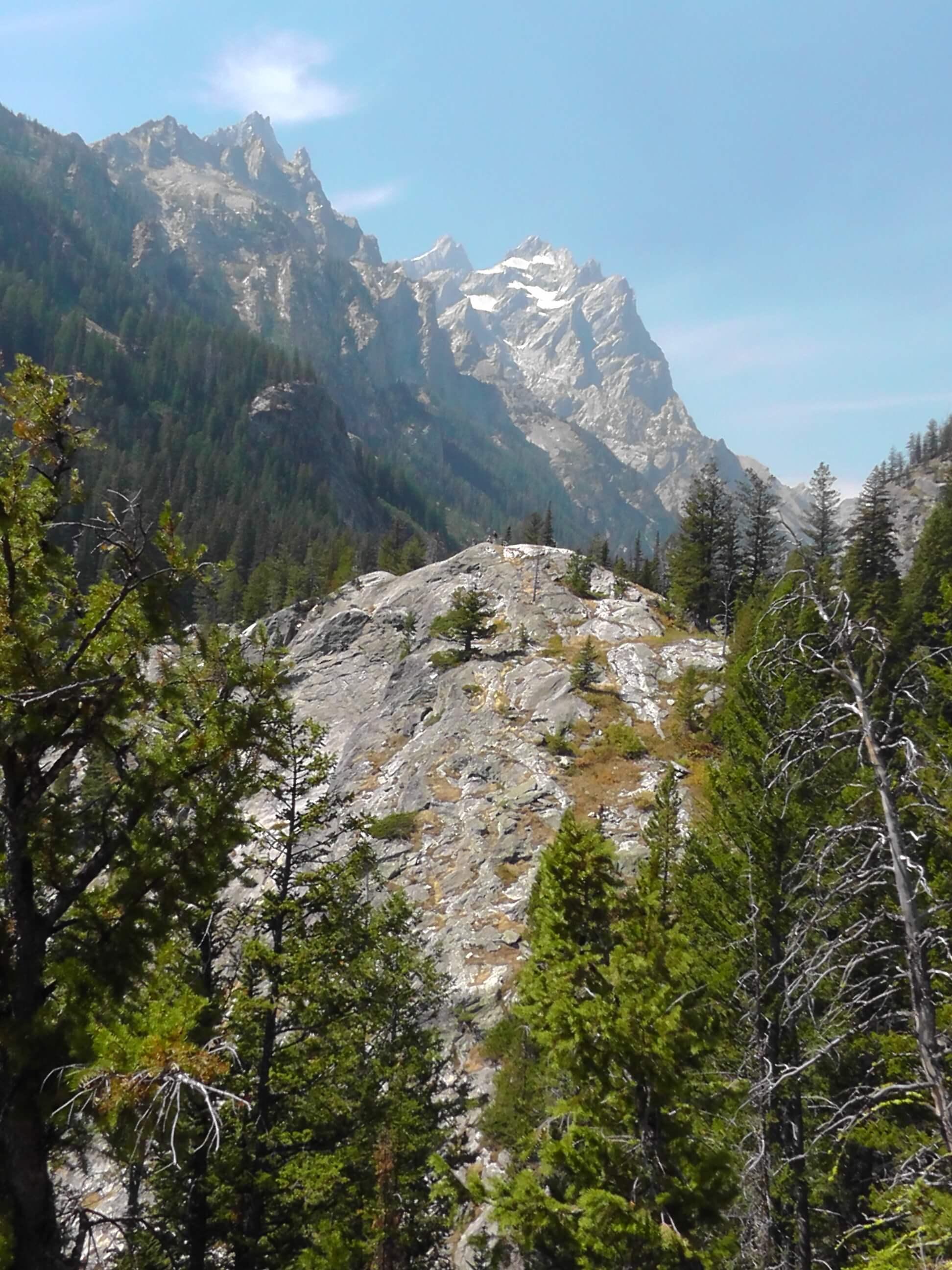 Above Inspiration Point, Grand Teton National Park, Wyoming