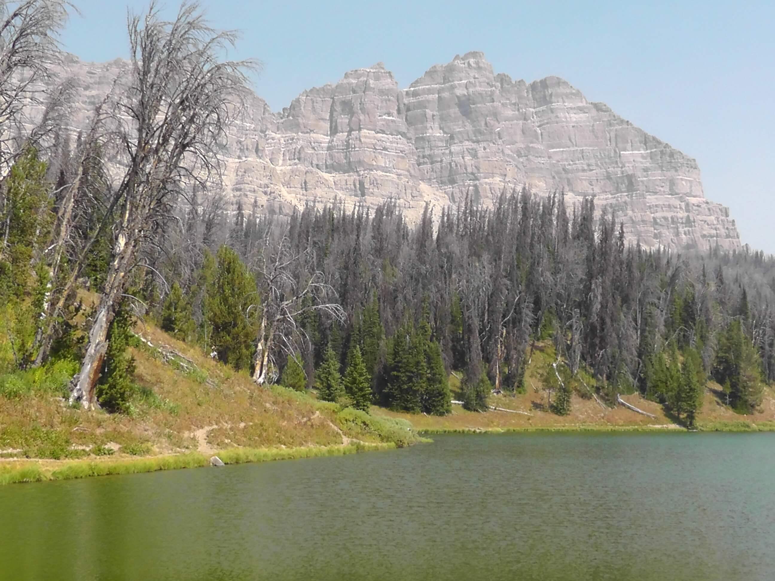 Wind River Lake Picnic Area, Wyoming