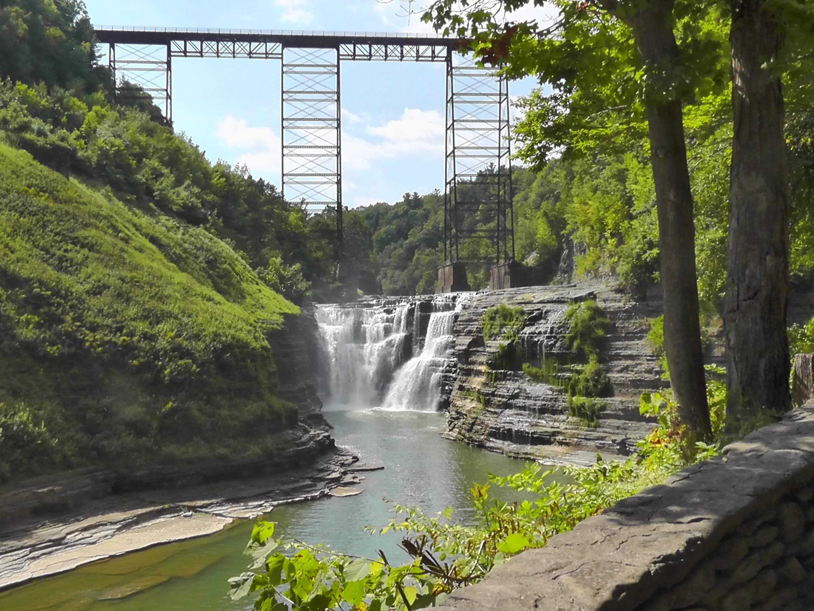 Upper Falls, Letchworth State Park, New York