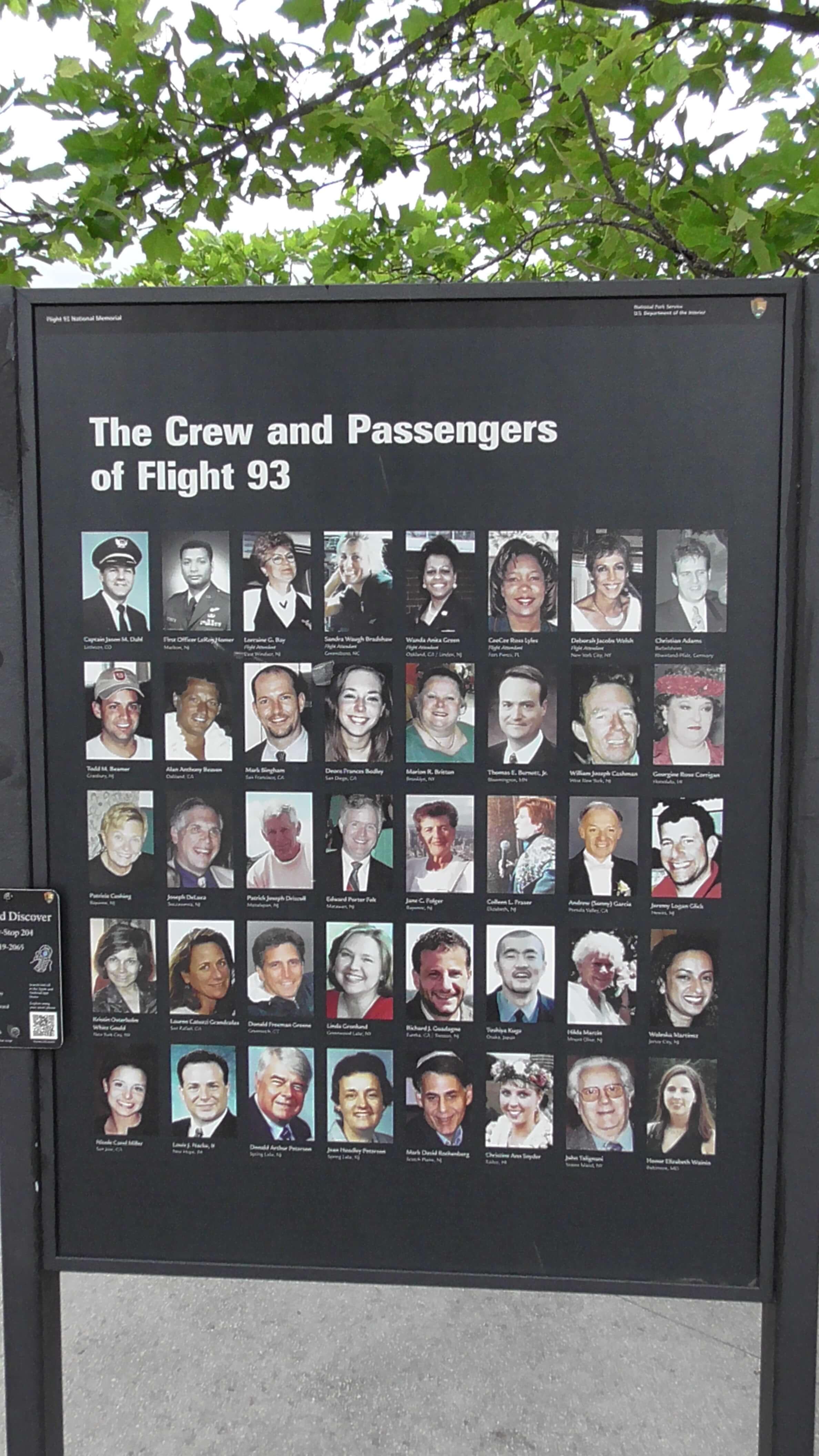 Passengers and Crew of Flight 93