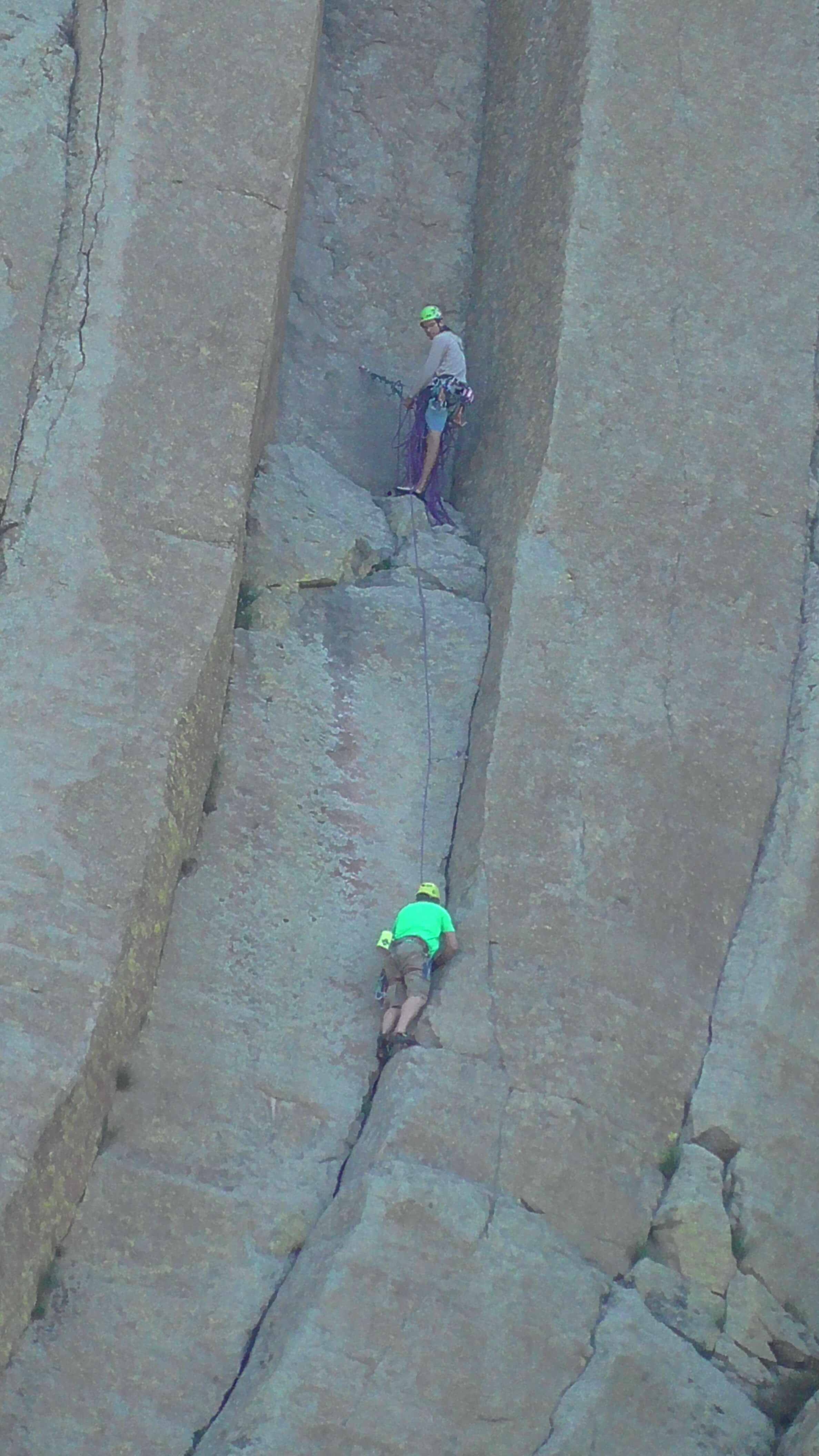 Two climbers