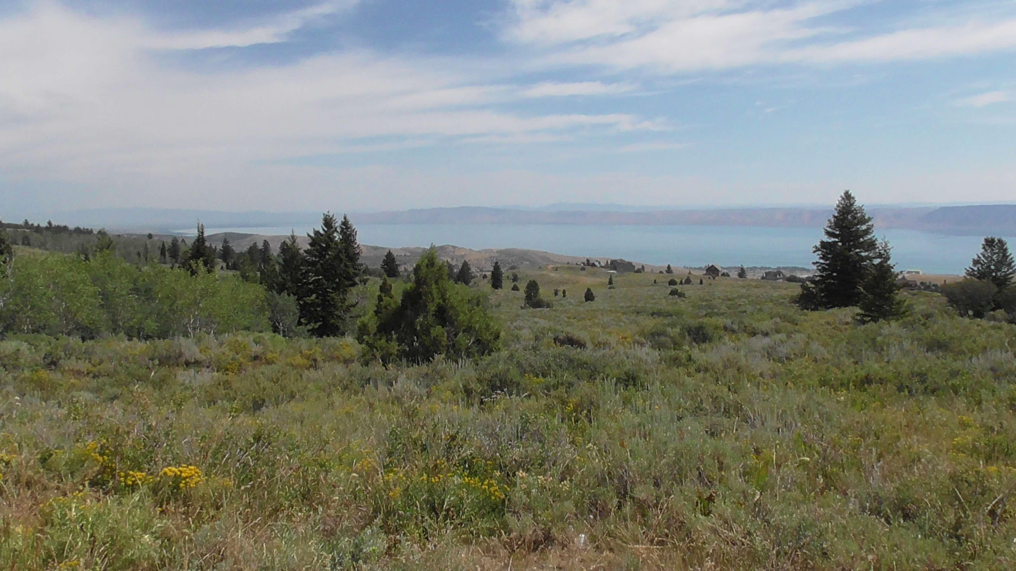 Bear Lake on Idaho and Utah Border