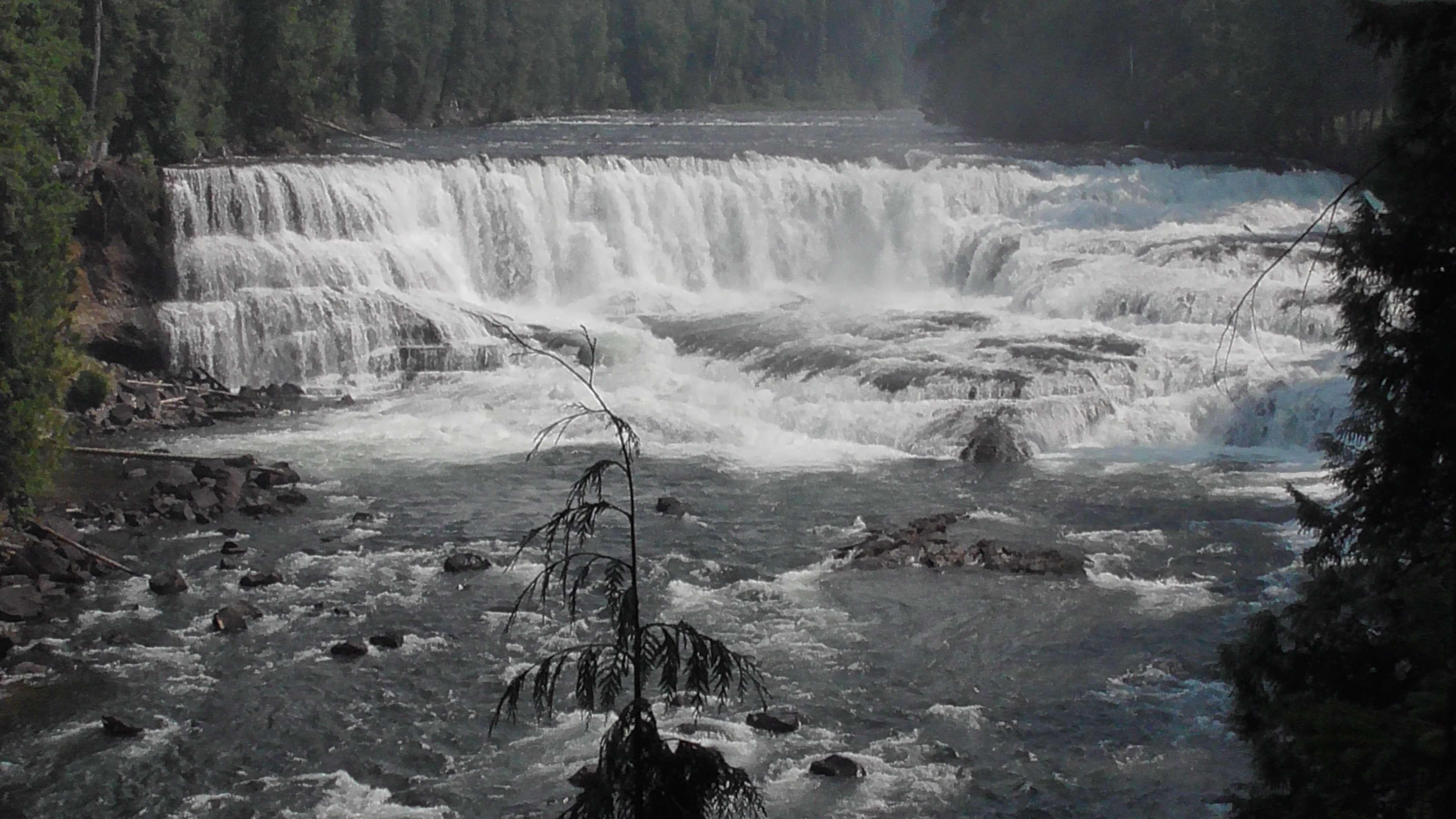 Dawson Falls, Wells Gray Provincial Park, BC