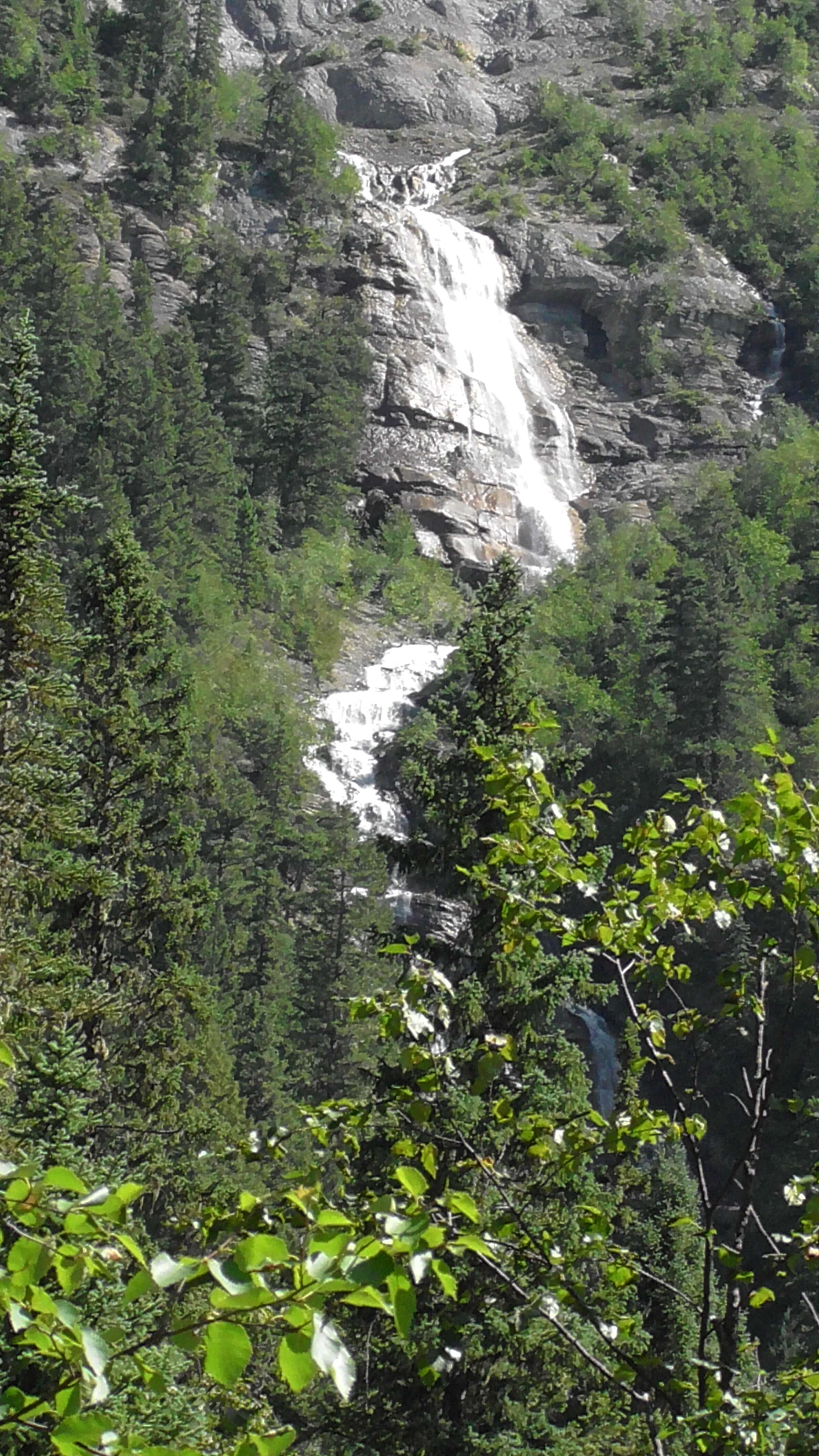 Unnamed water fall, Mount Robson Provincial Park, BC