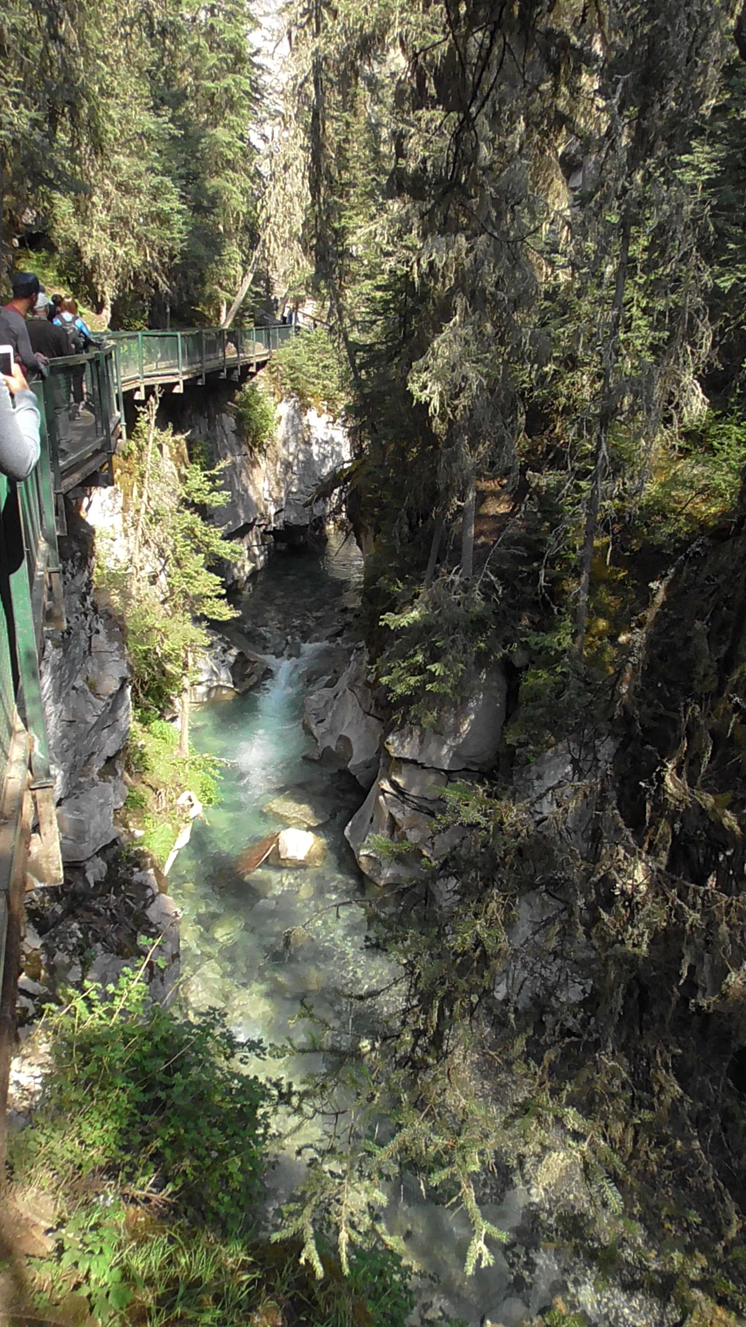 Johnston Canyon. Banff National Park, Alberta