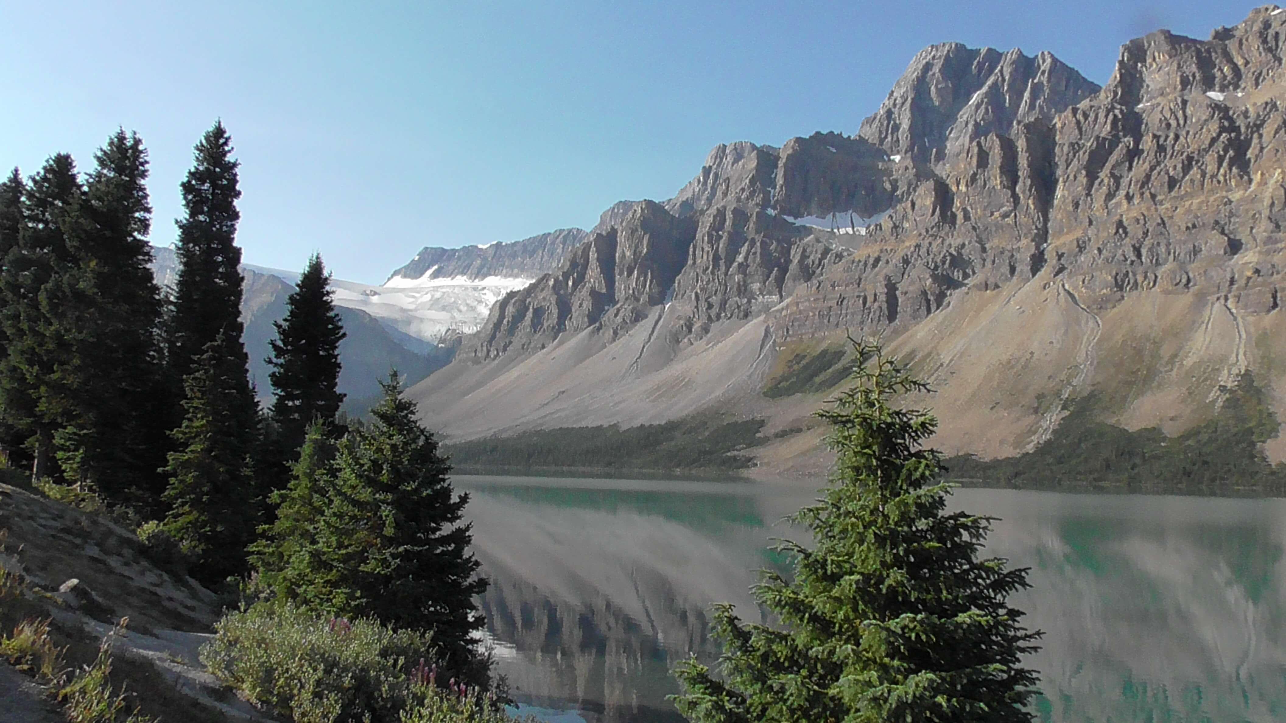 Bow Lake, Banff National Park, Alberta
