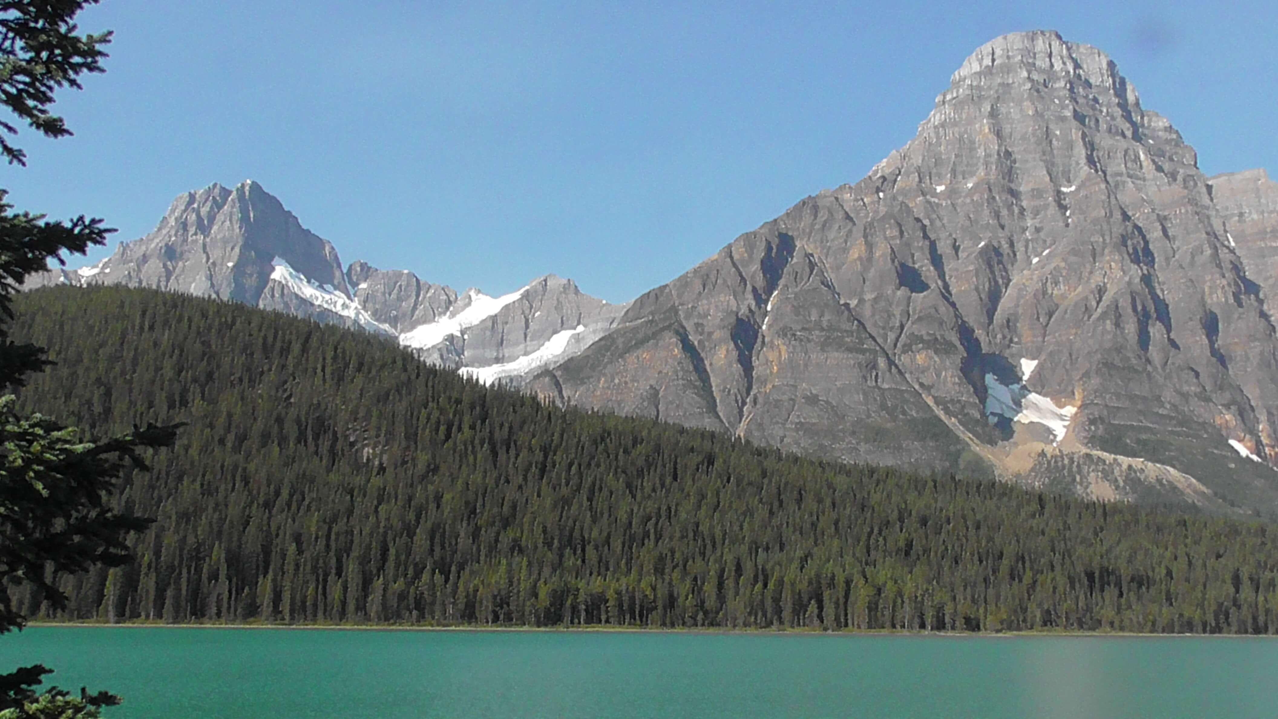 Mount Chephren, Lake Waterfowl, Banff National Park, Alberta
