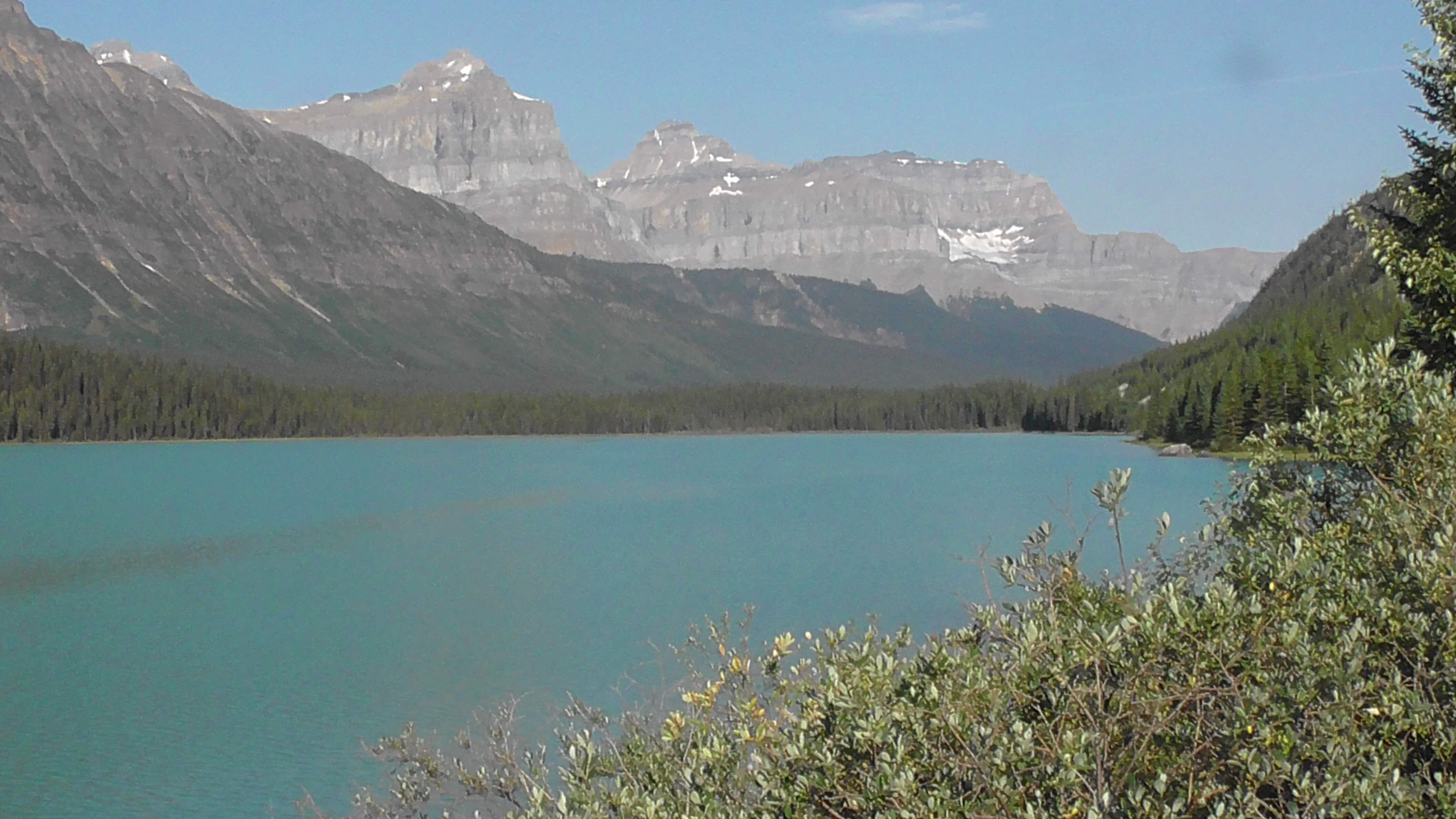 Lake Waterfowl, Banff National Park, Alberta