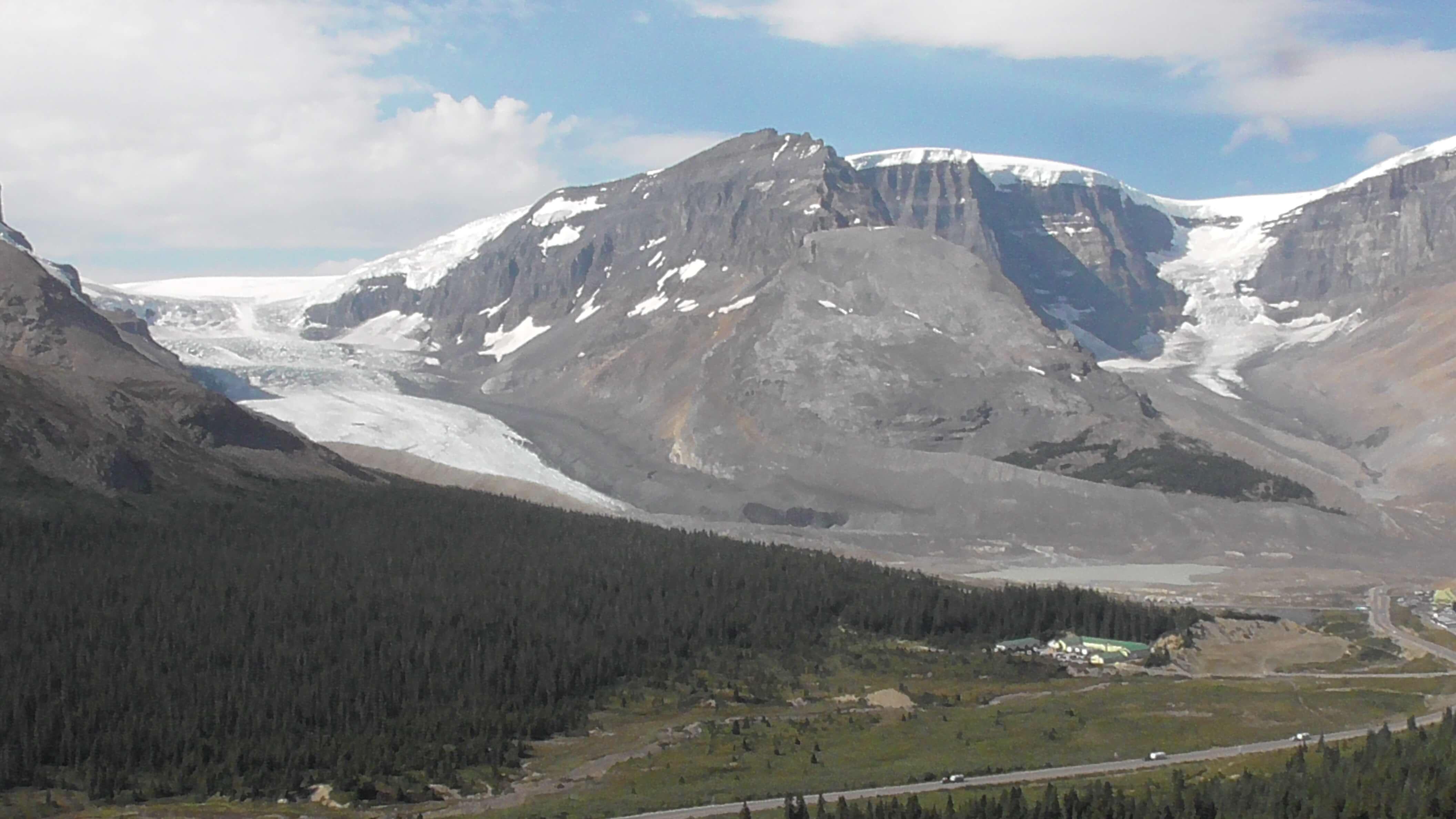 Athabasca Glacier and Dome Glacier, Jasper National Park, Alberta