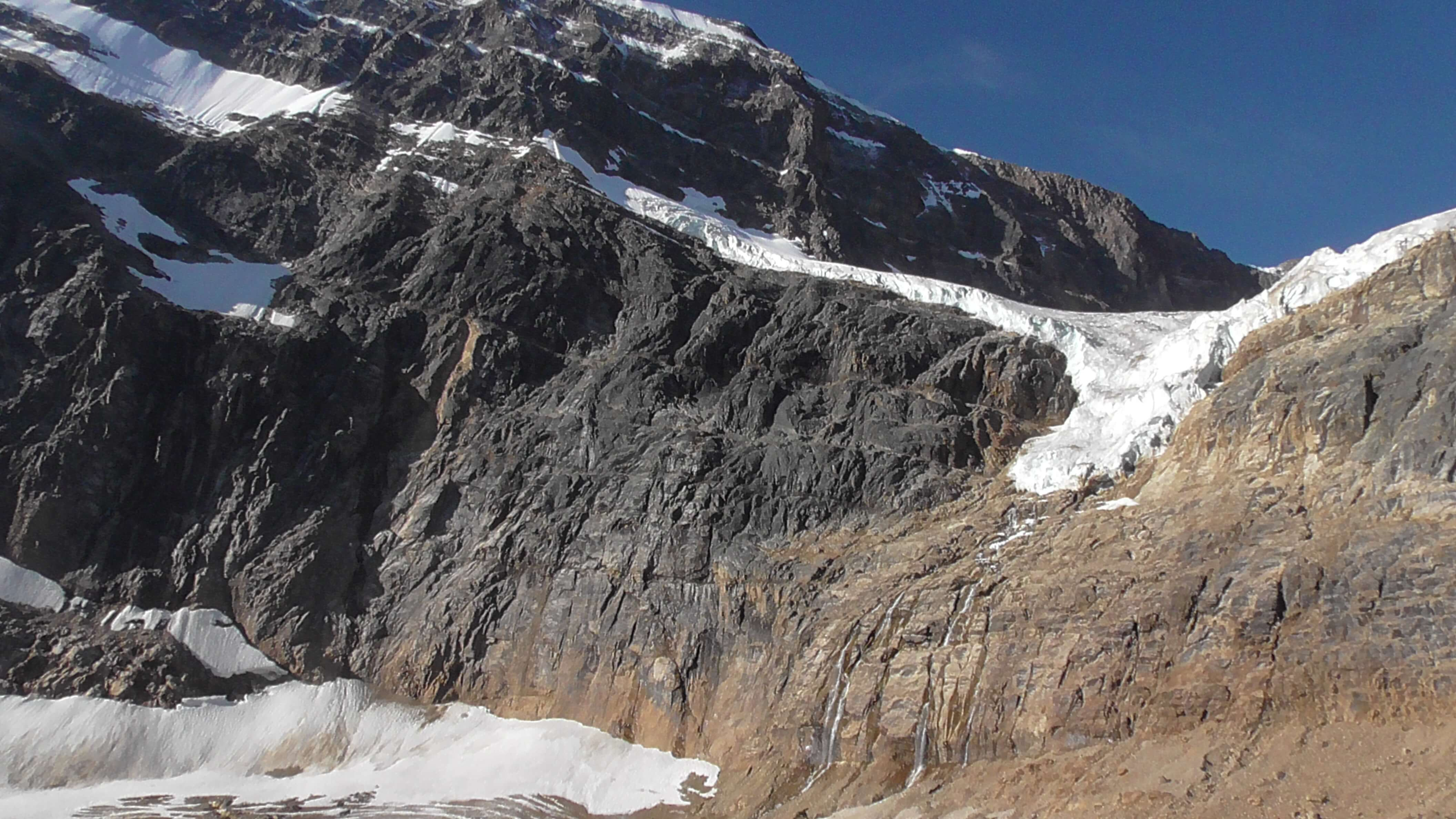 Angel Glacier, Mount Edith Cavell, Jasper NP, Alberta