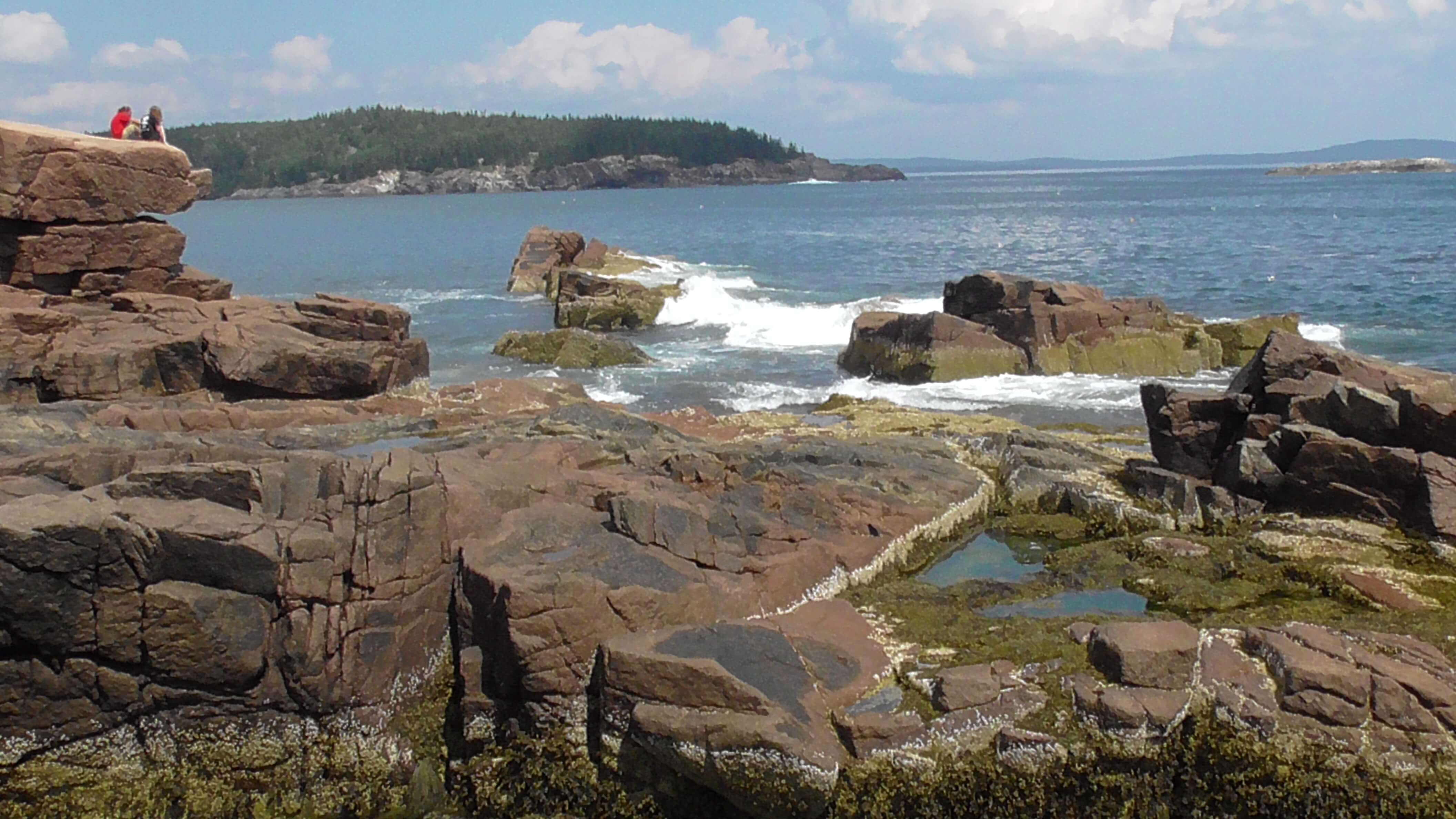 View from Thunder Hole, Acadia National Park, Maine