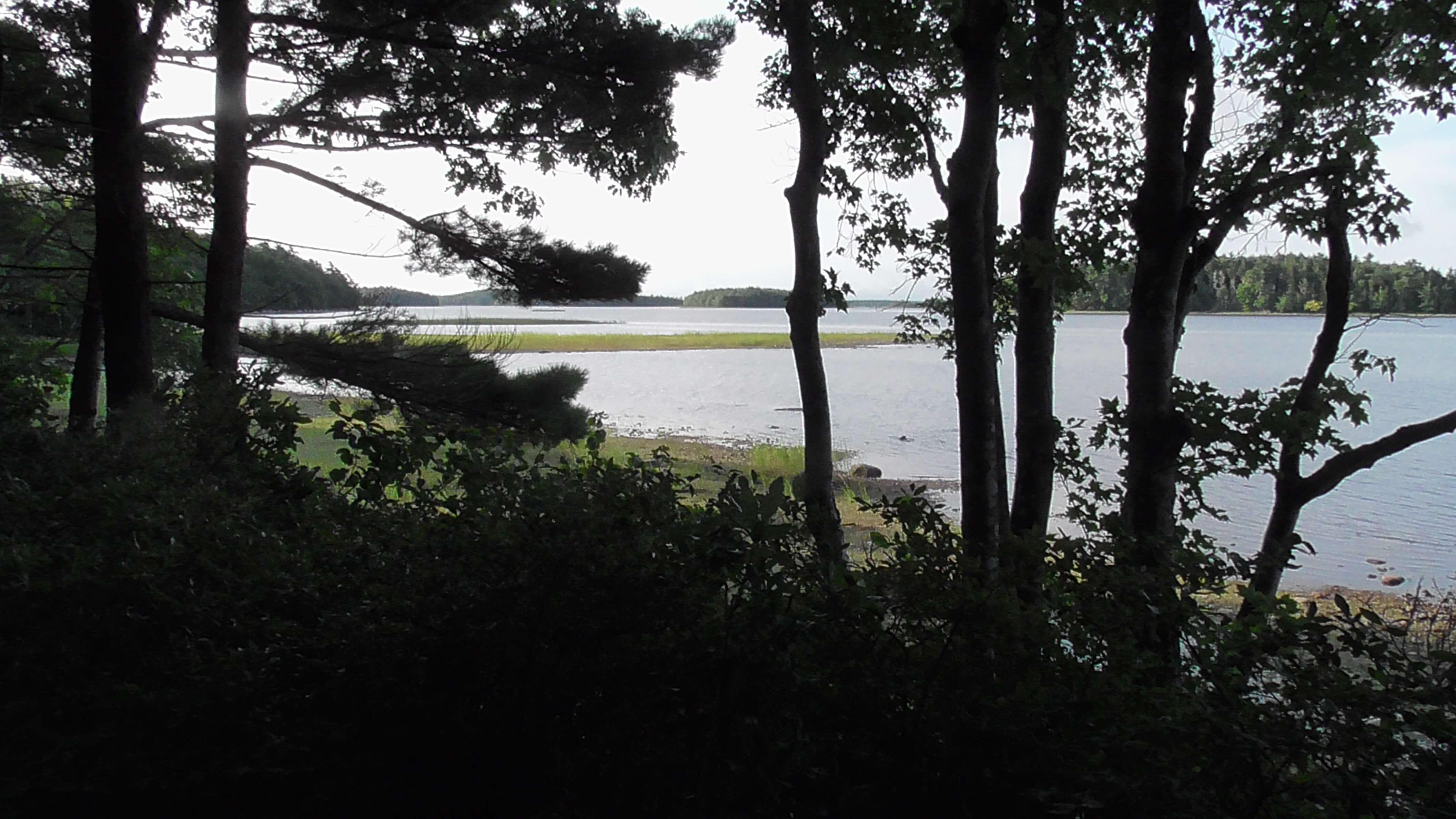 View from Camp Site, Kejimkujik National Park, Nova Scotia
