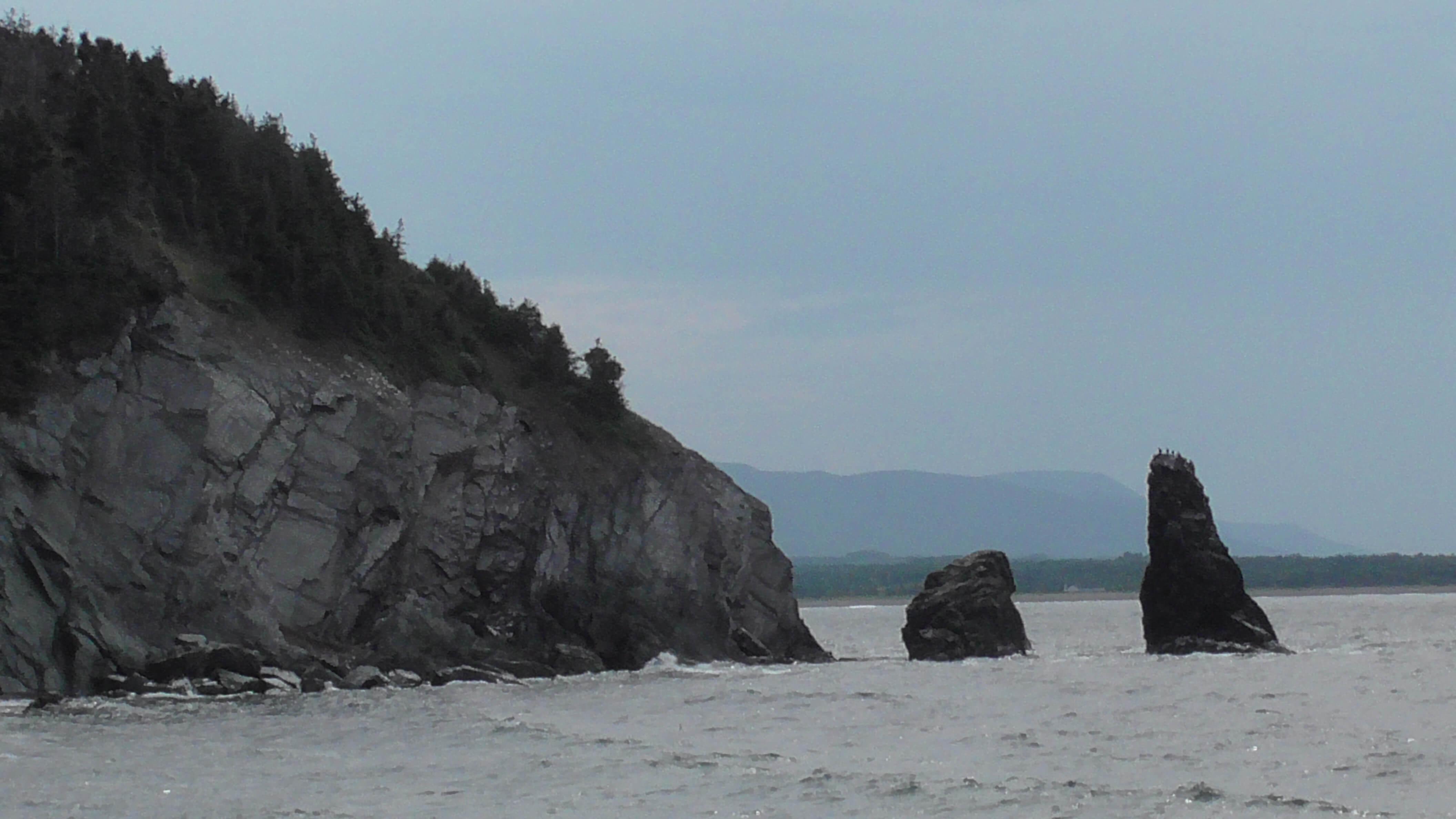 Pillar Rock, West Side, Cape Breton Highlands National Park, Nova Scotia