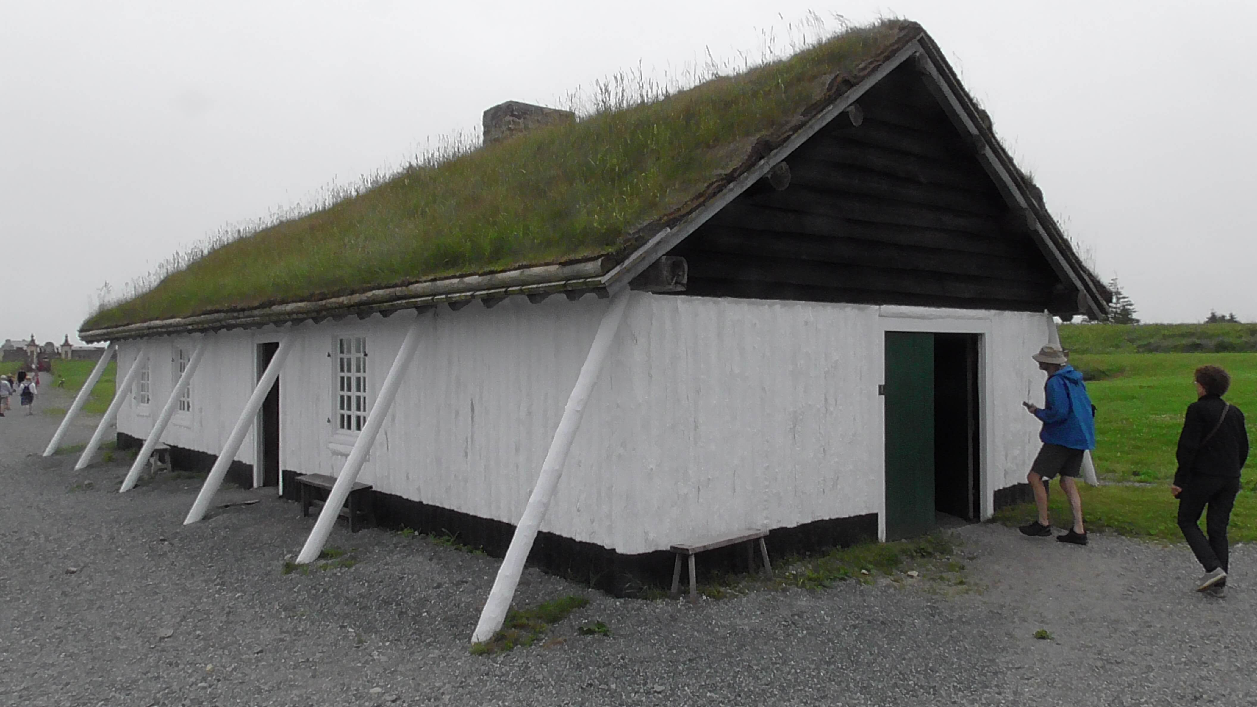 Fisherman's house of the time