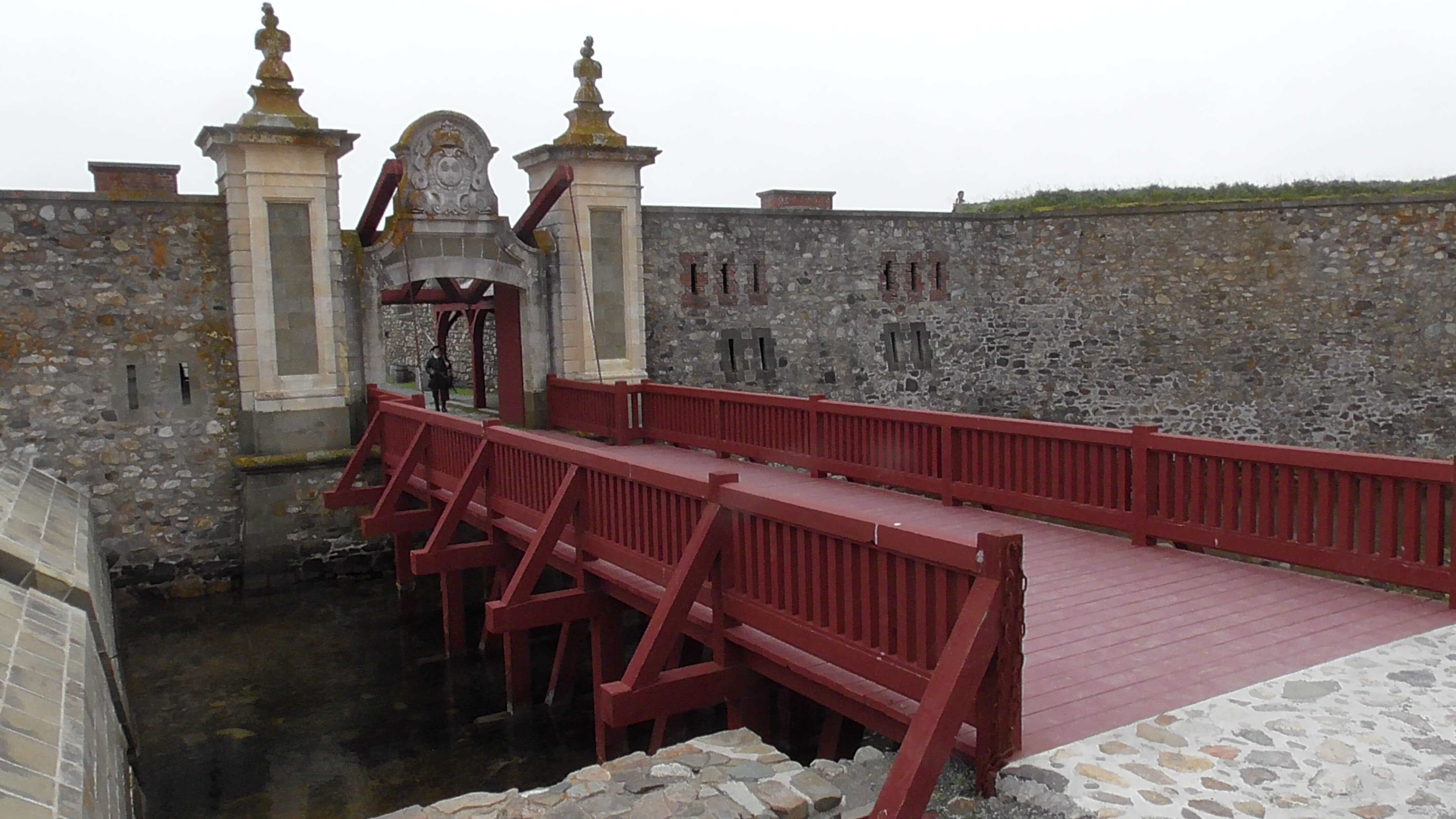 Entrance to Fort Louisbourg