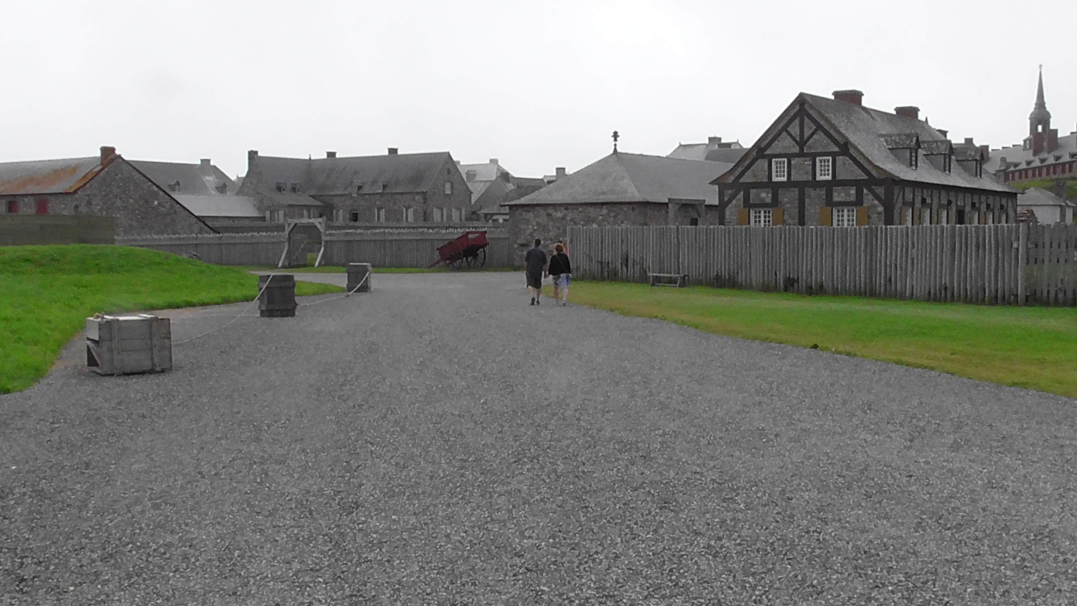 Buildings in Fort Louisbourg